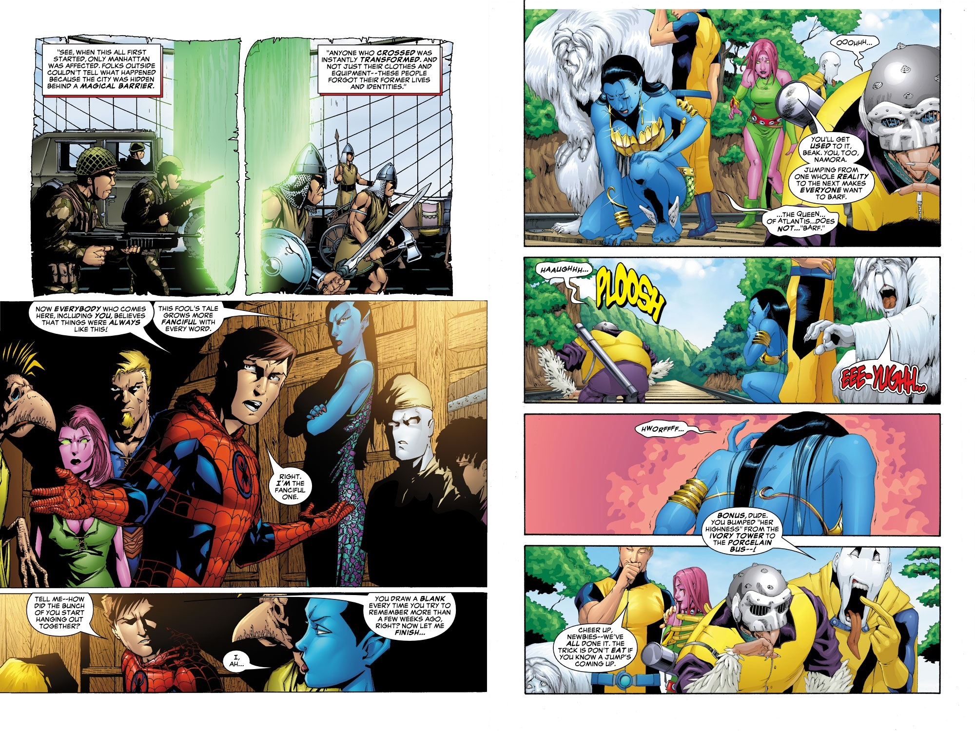 Exiles Ultimate Collection Book 3 review