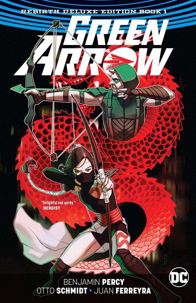 Green Arrow: Rebirth Deluxe Edition Book 1
