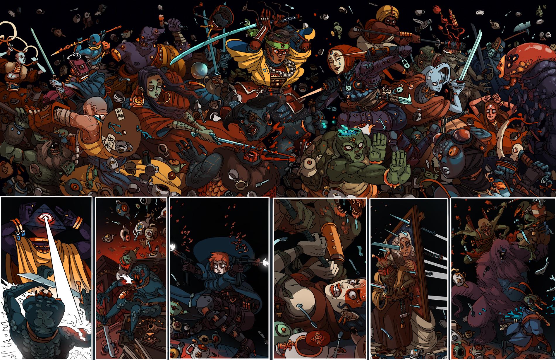Kill 6 Billion Demons Wieder of Swords review