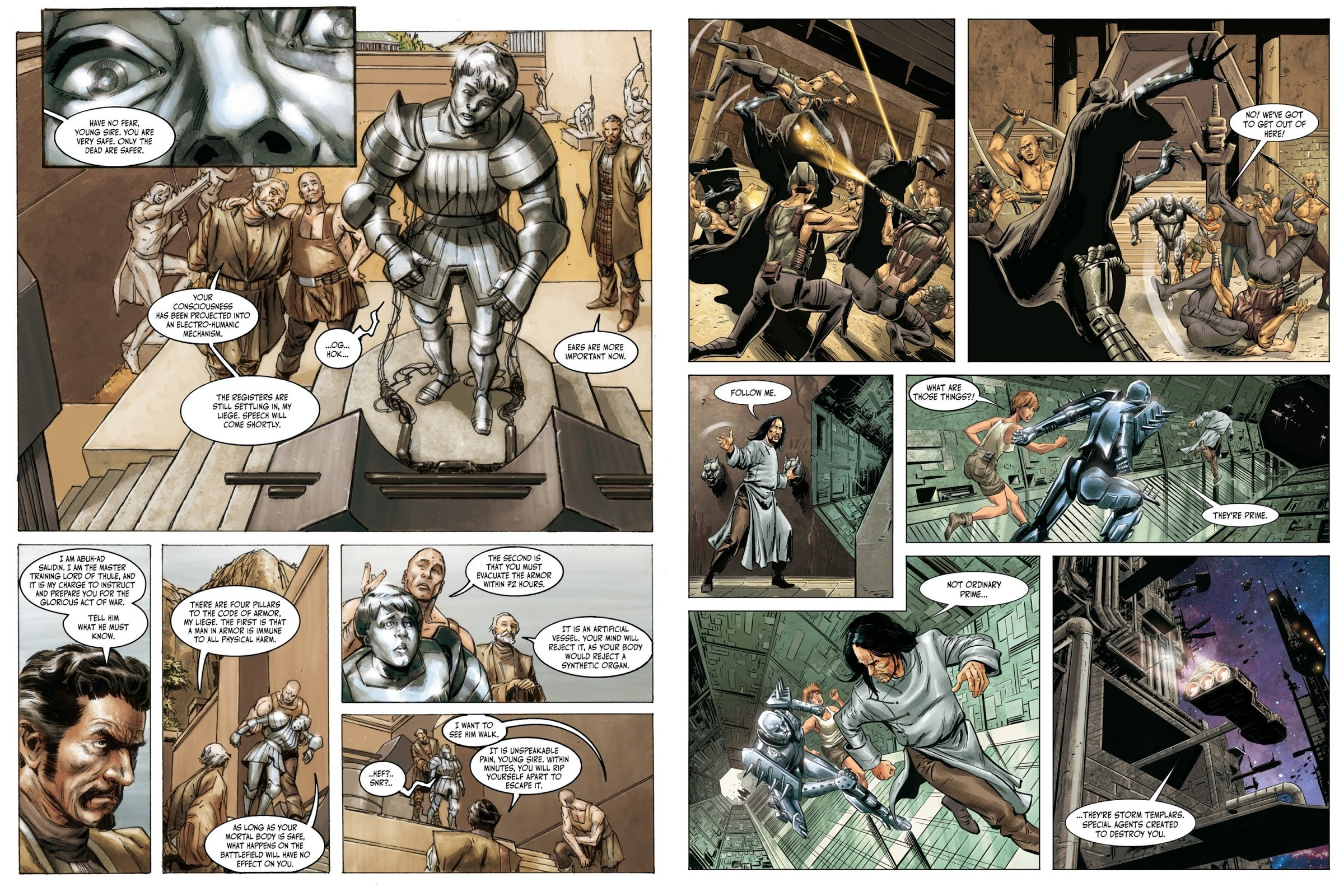 Metal graphic novel review