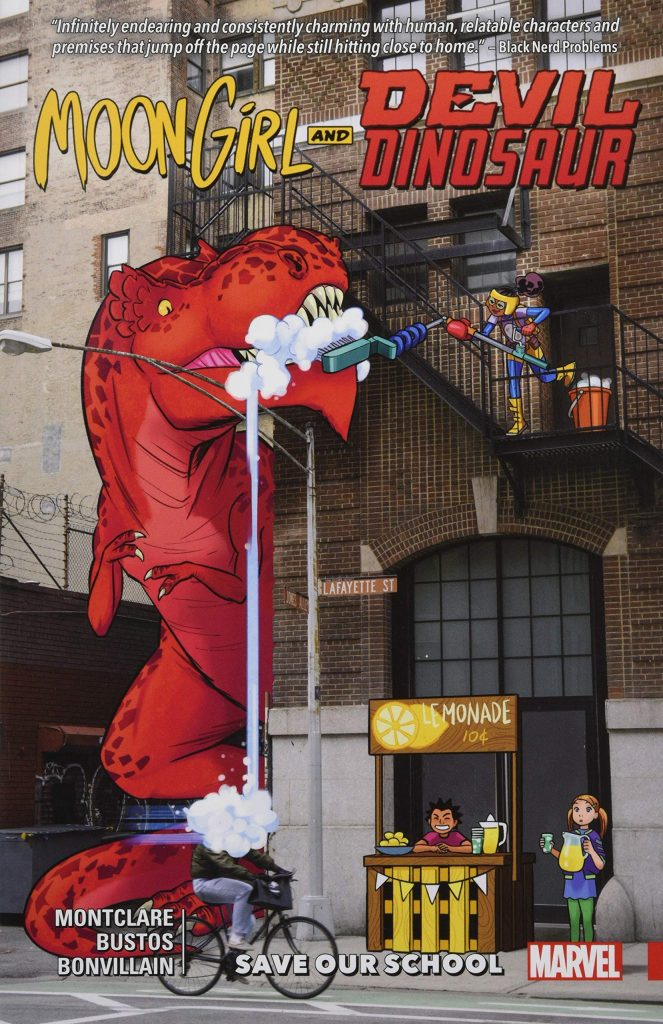 Moon Girl and Devil Dinosaur: Save Our School