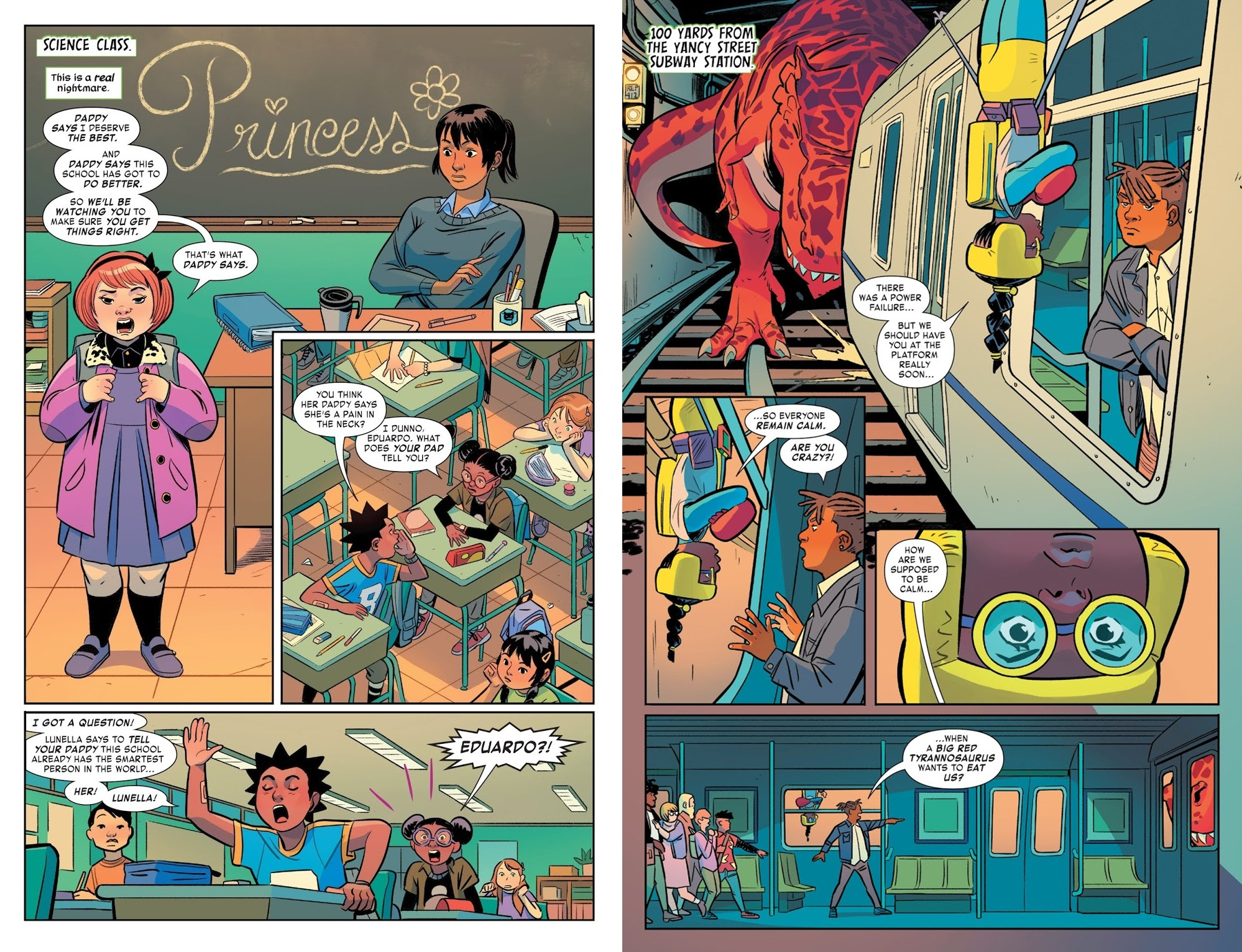 Moon Girl and Devil Dinosaur Save Our School review