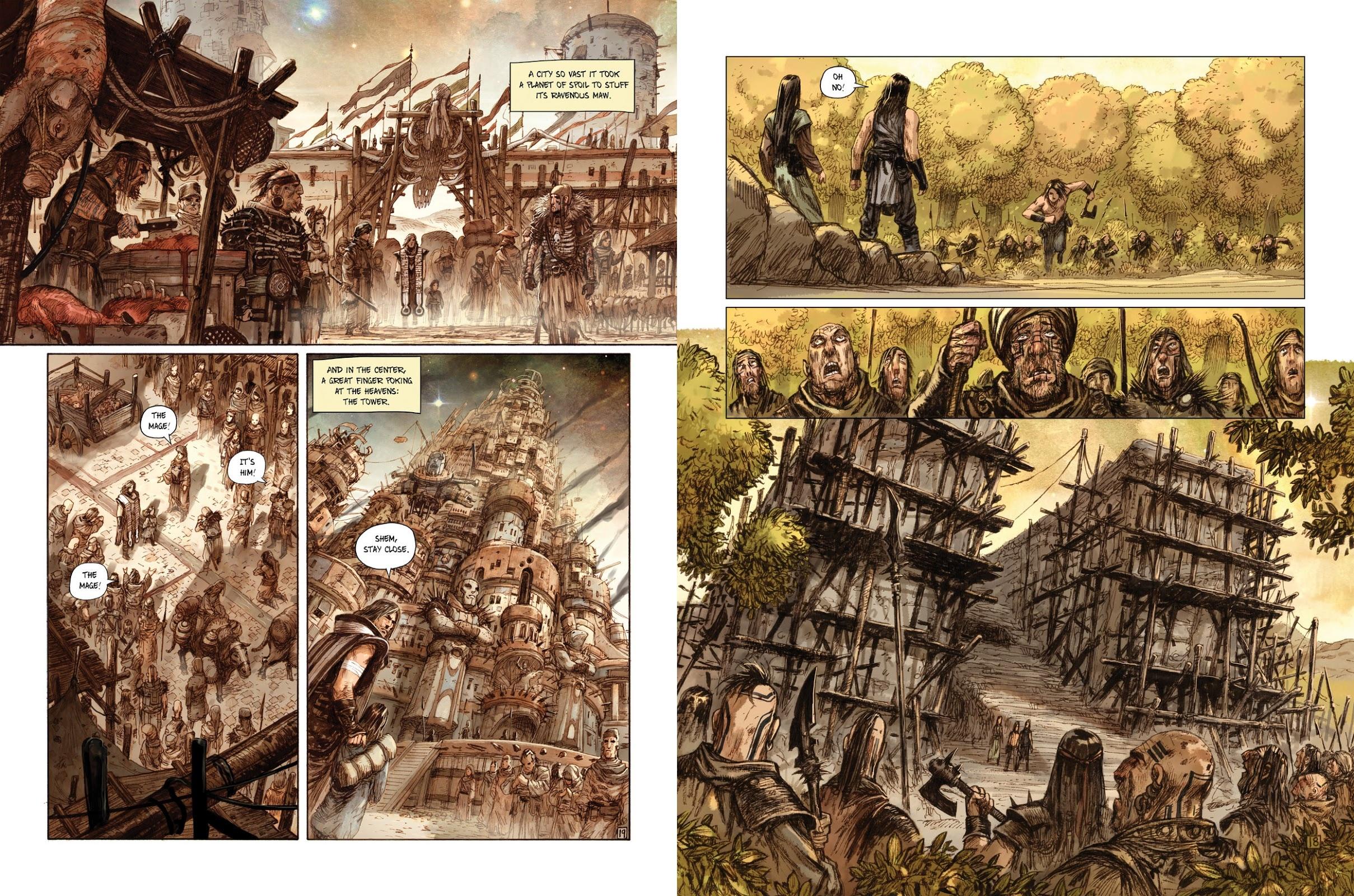 Noah graphic novel review
