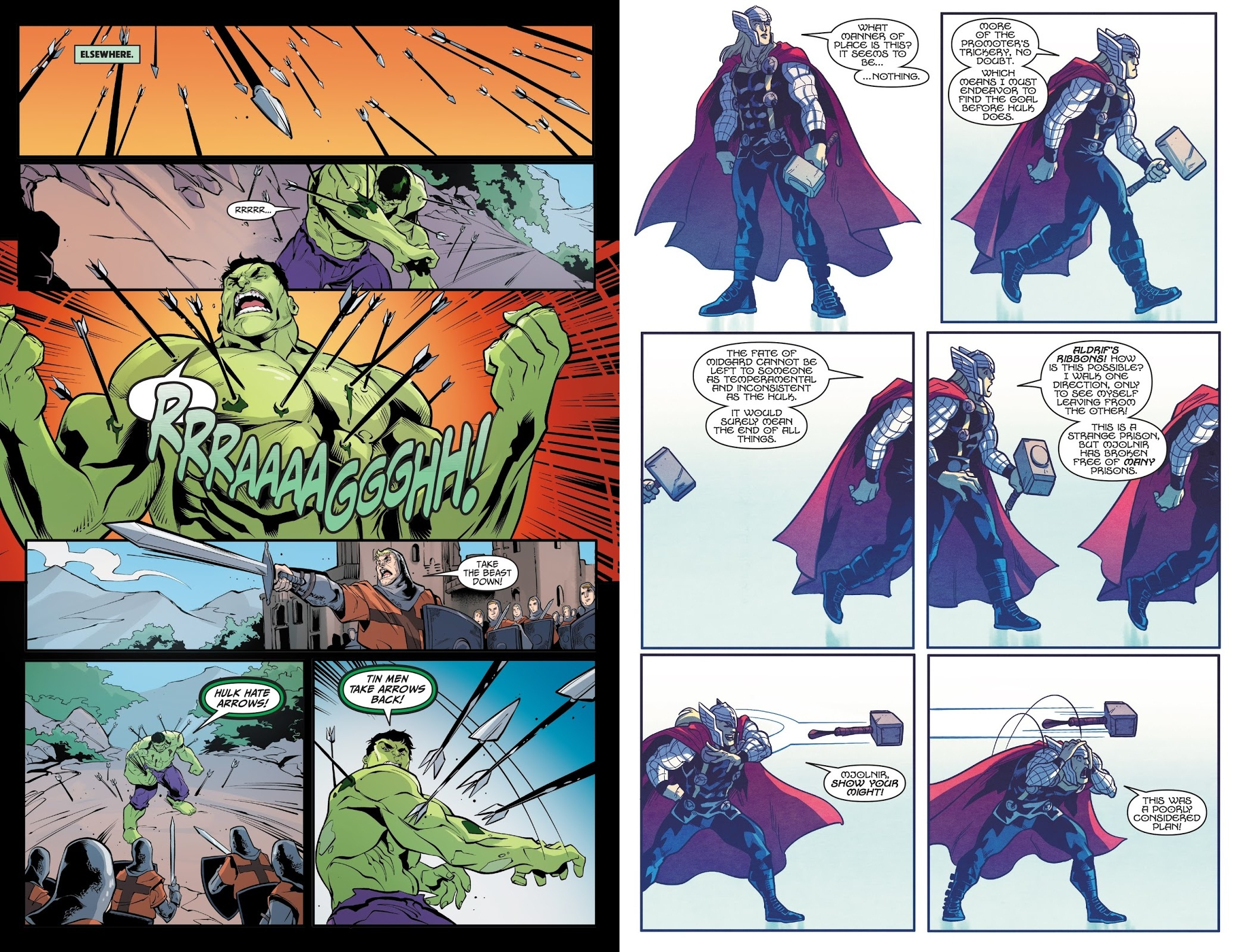 Thor vs Hulk Champions of the Universe review