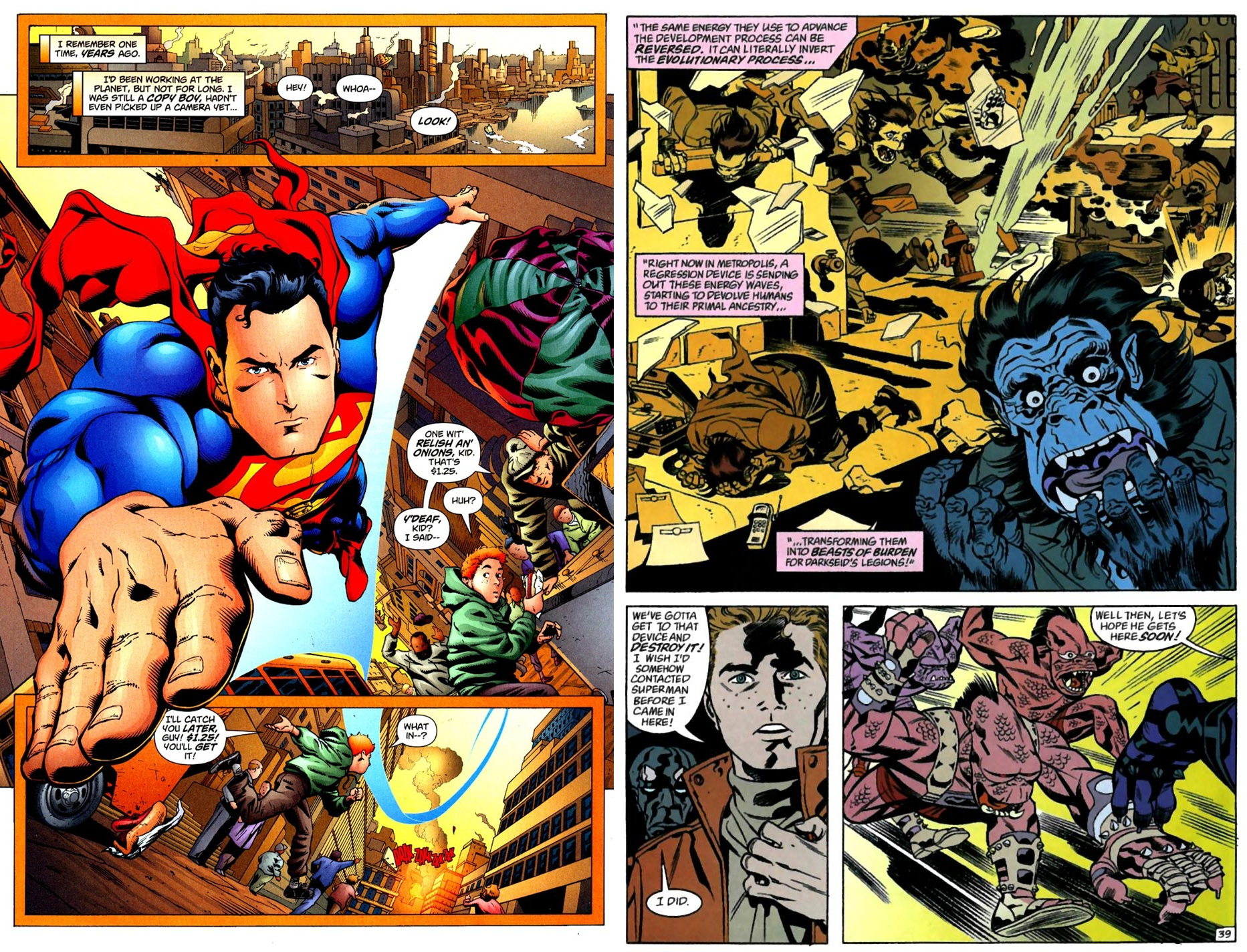 Superman 3-2-1 Action review