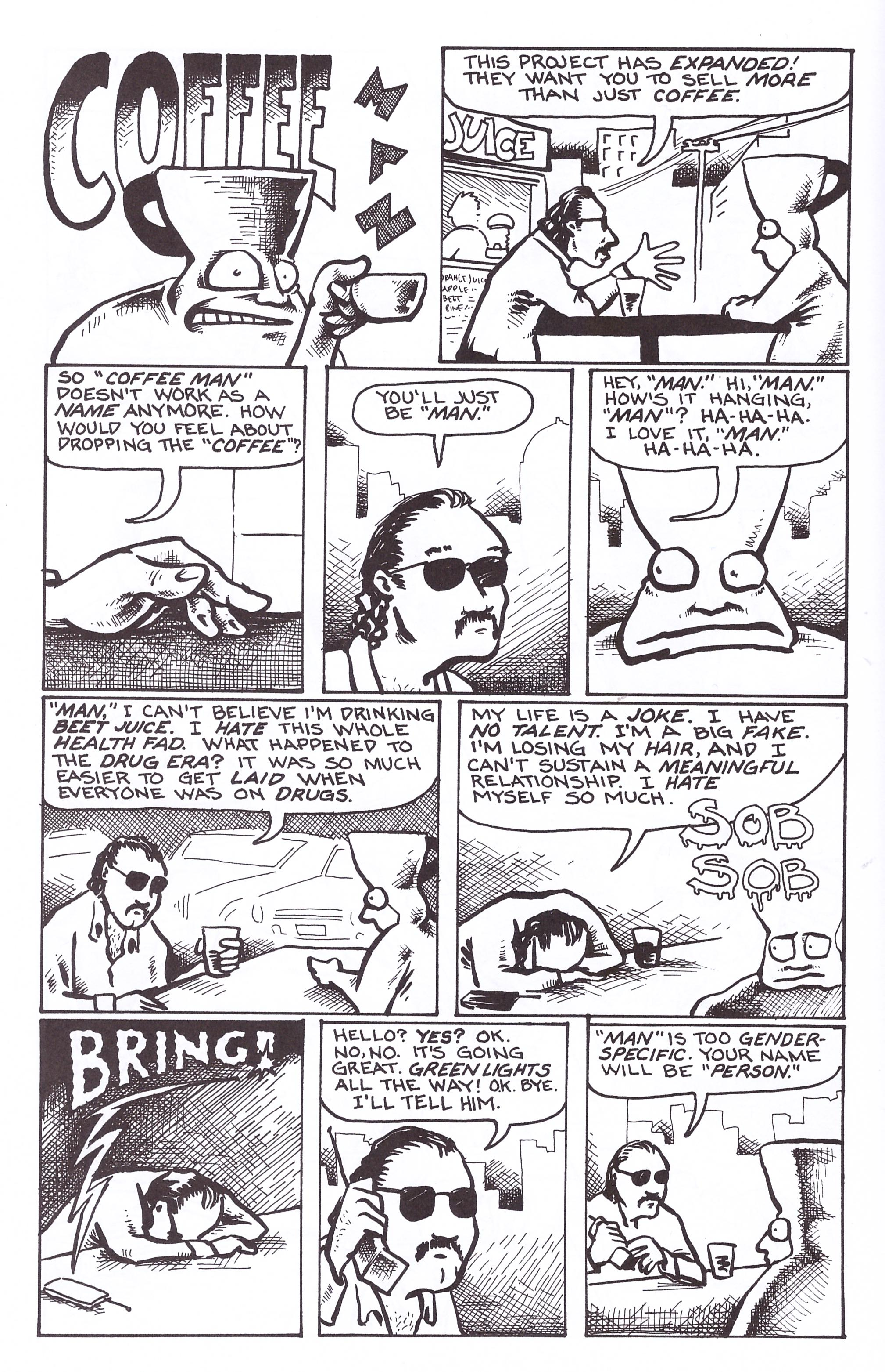 Too Much Coffee Man Omnibus review