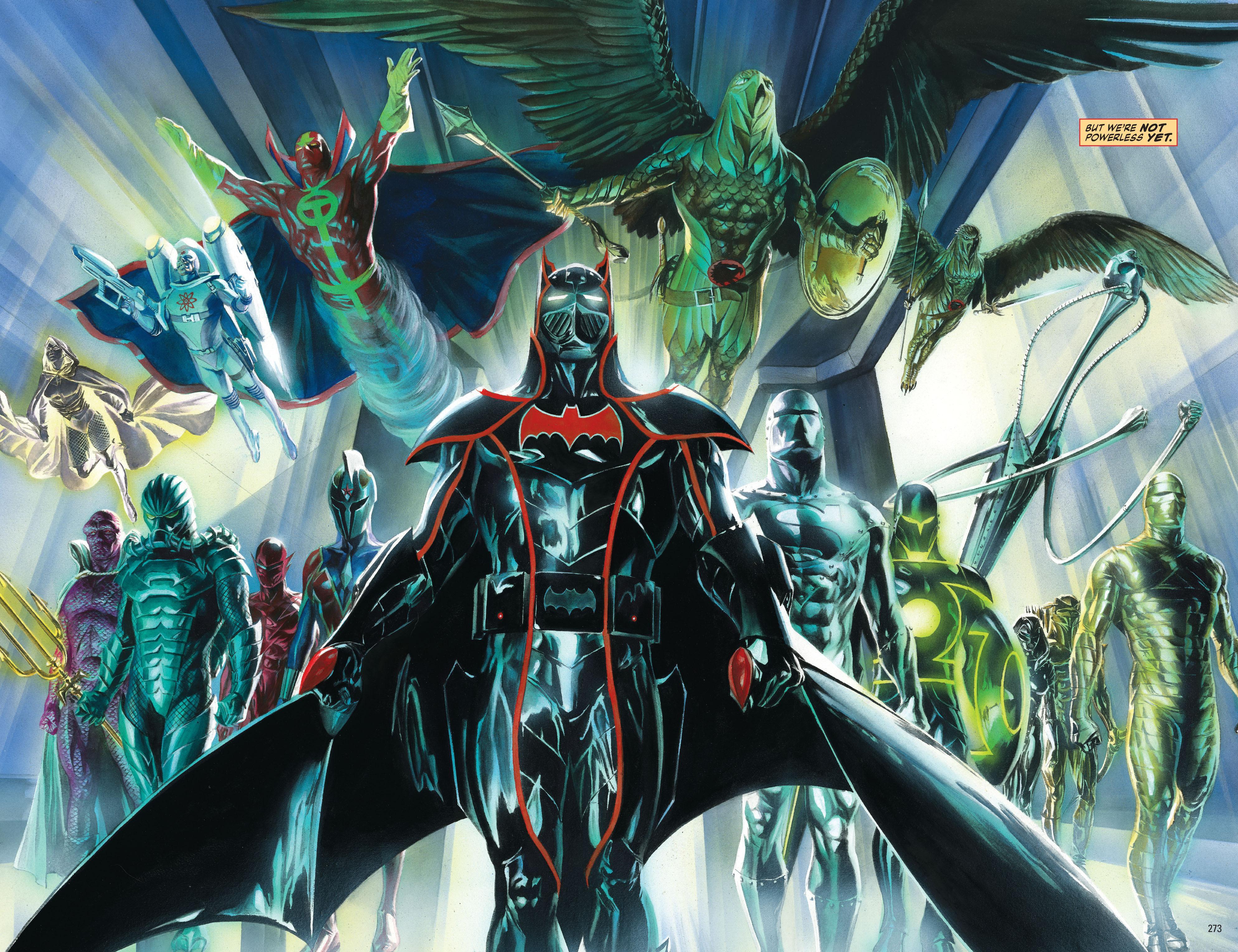 Justice Alex Ross Vol 3 review