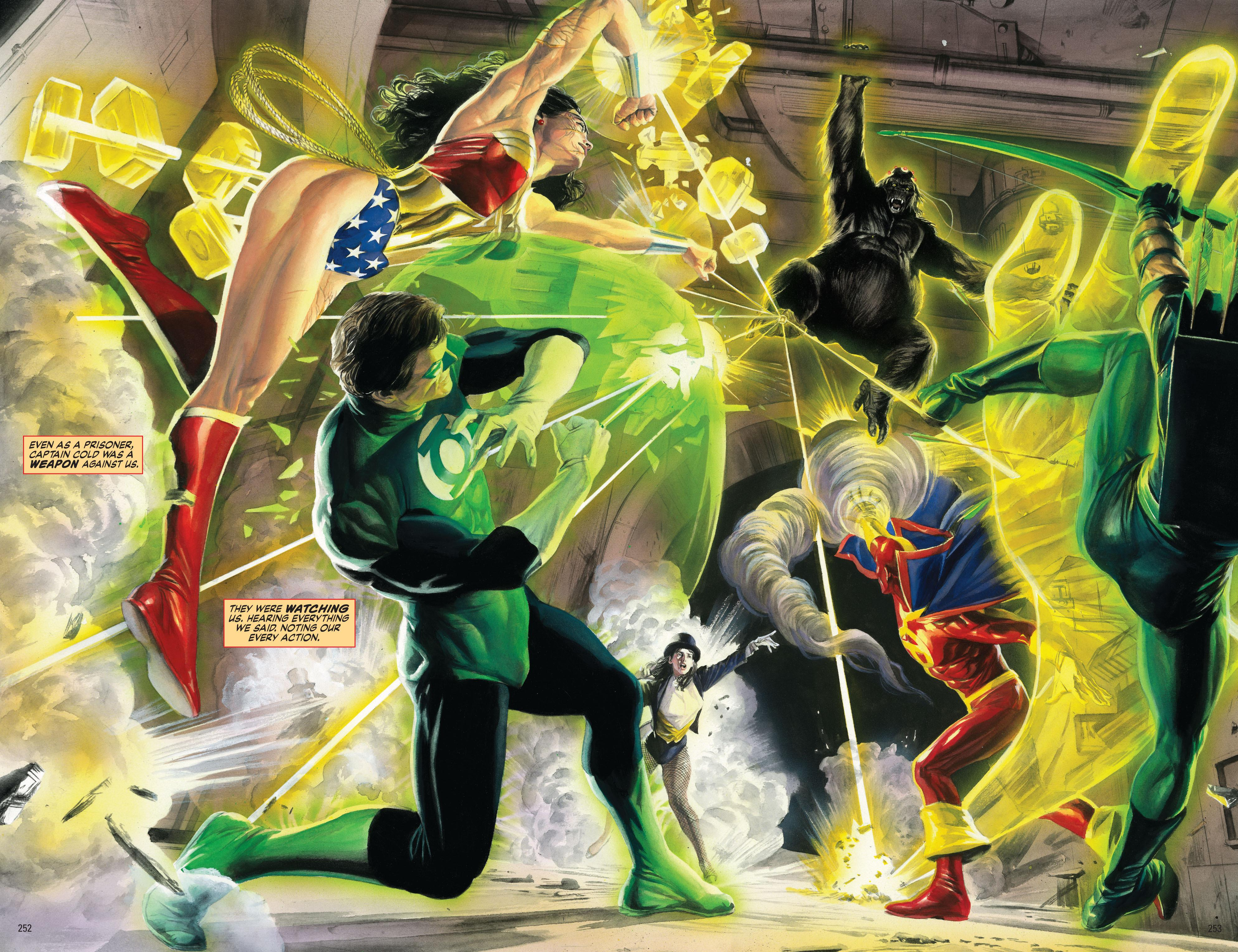 Alex Ross - Justice/Absolute Justice review