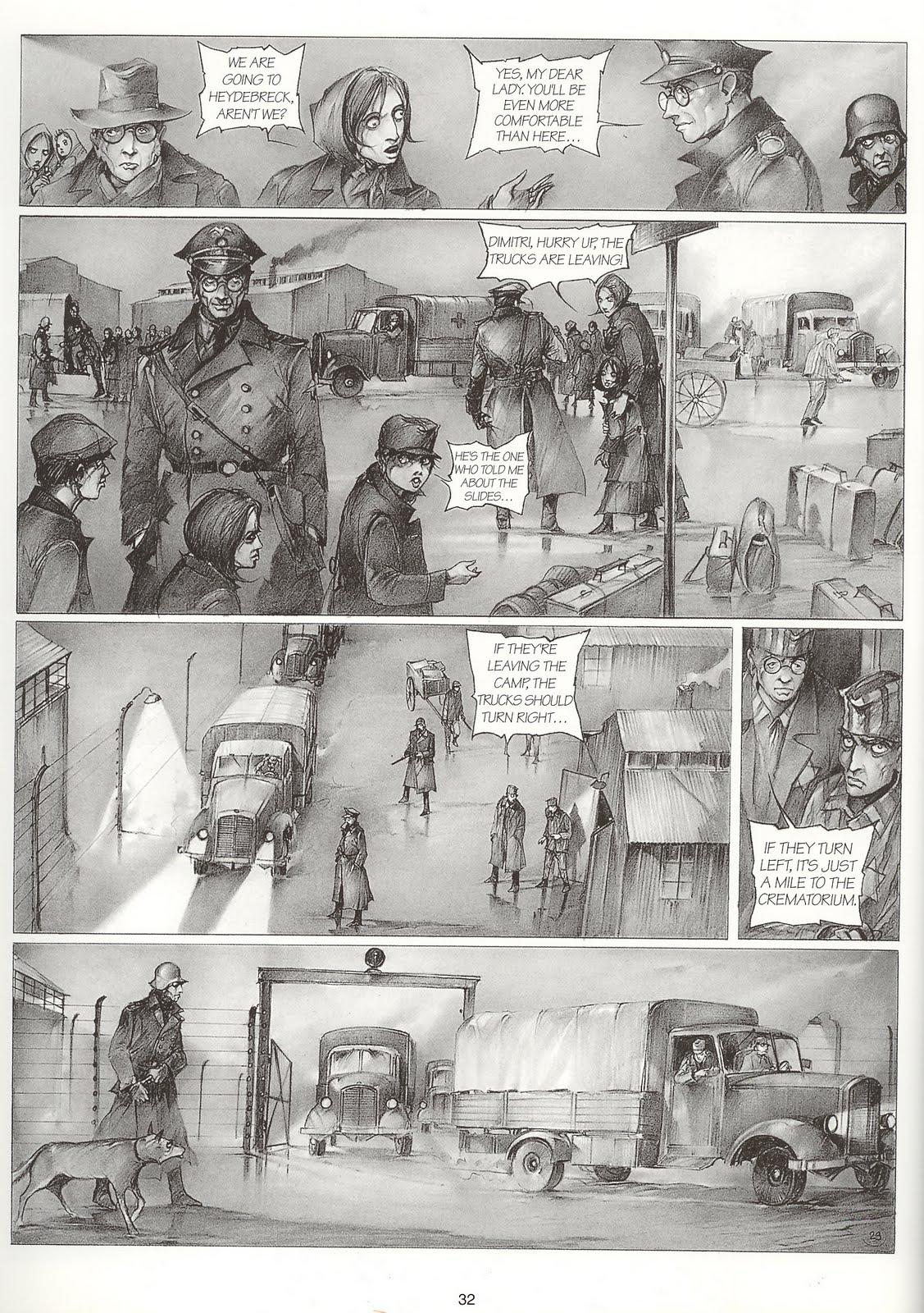 Auschwitz Pascal Croci graphic novel review