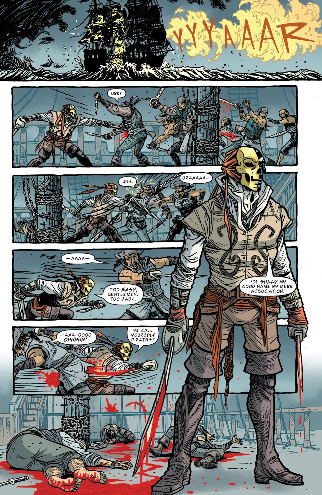 Kill Shakespeare 4 The Mask of Night review