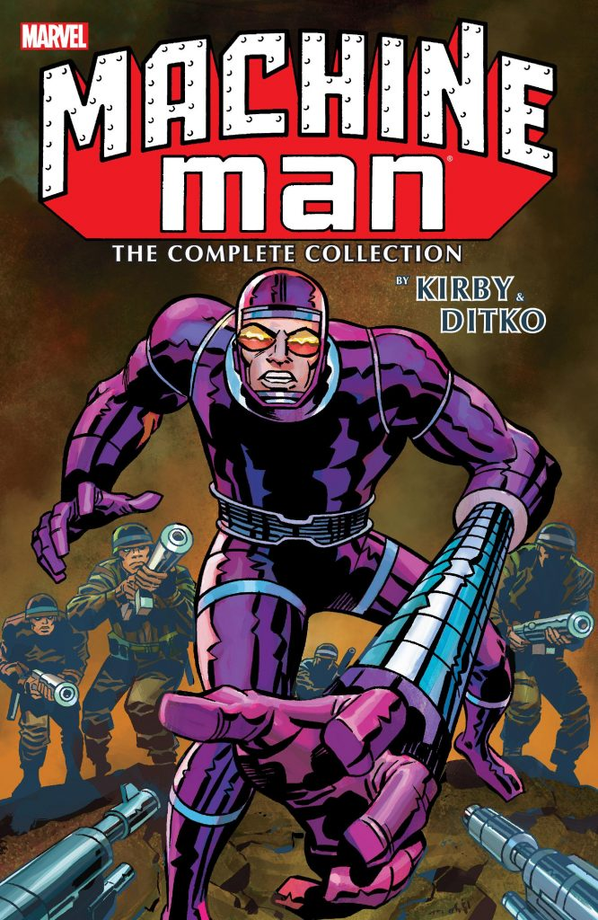 Machine Man: The Complete Collection by Kirby & Ditko