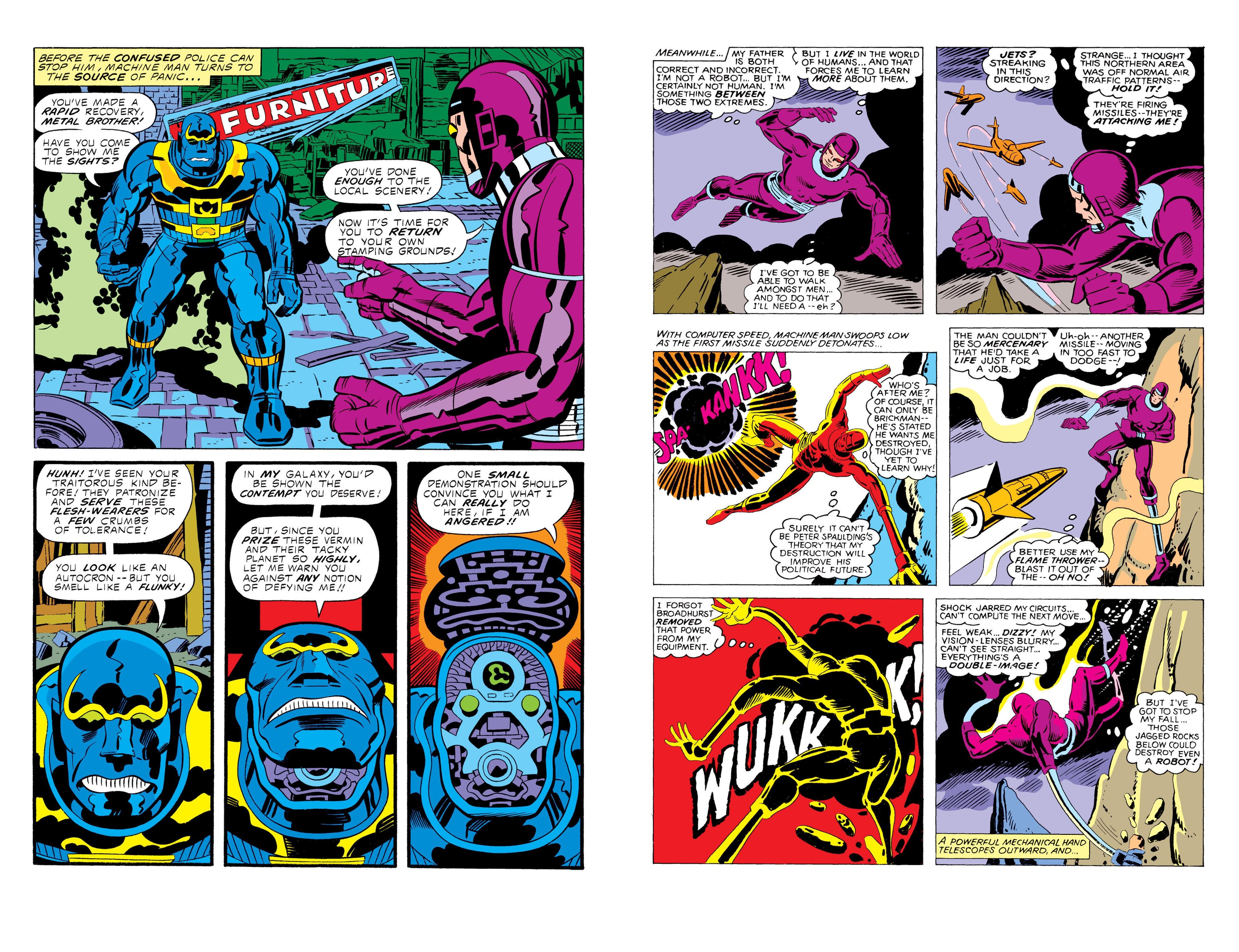 Machine Man the Complete Collection review
