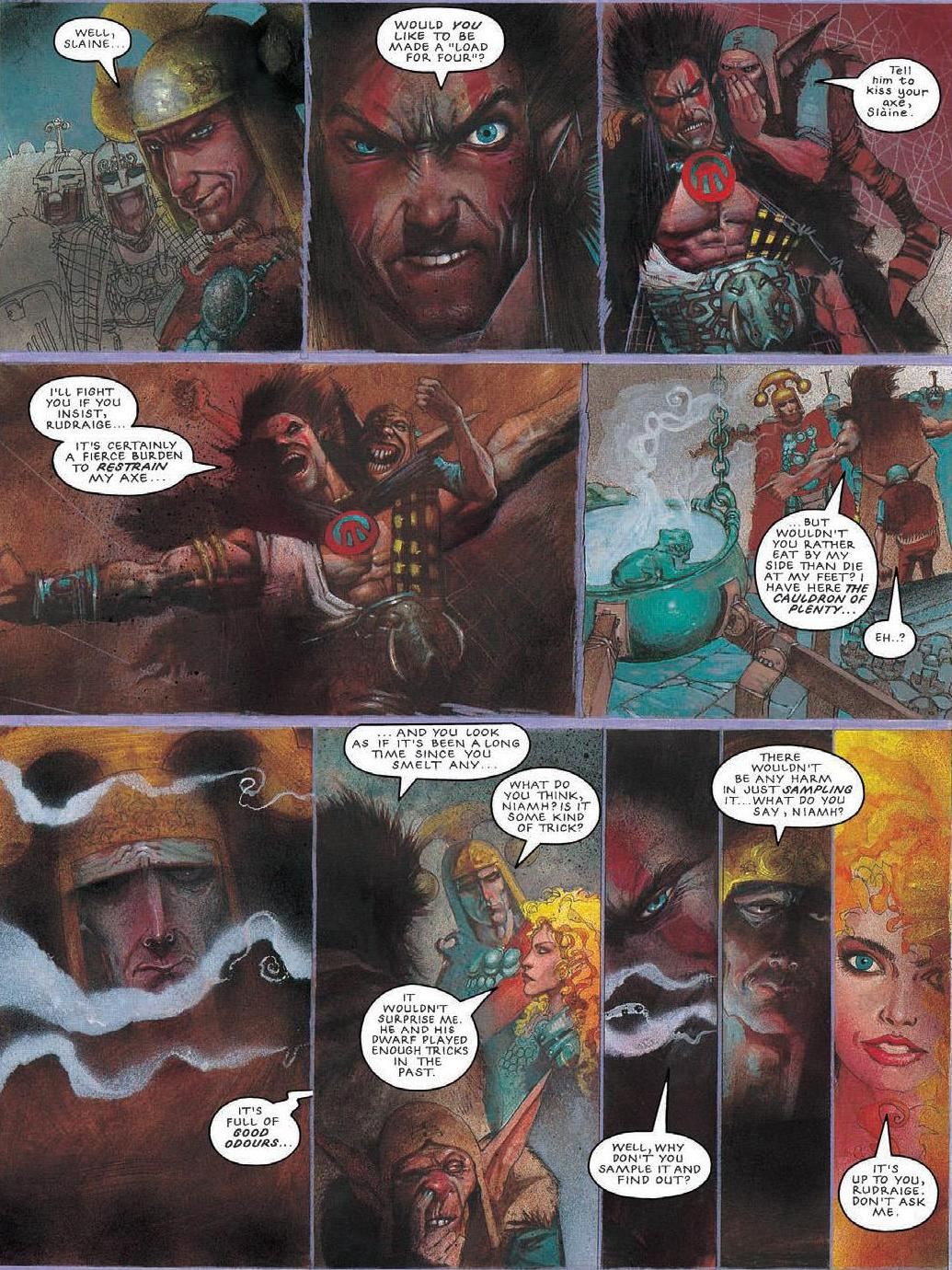 Slaine 4 The Horned God Review
