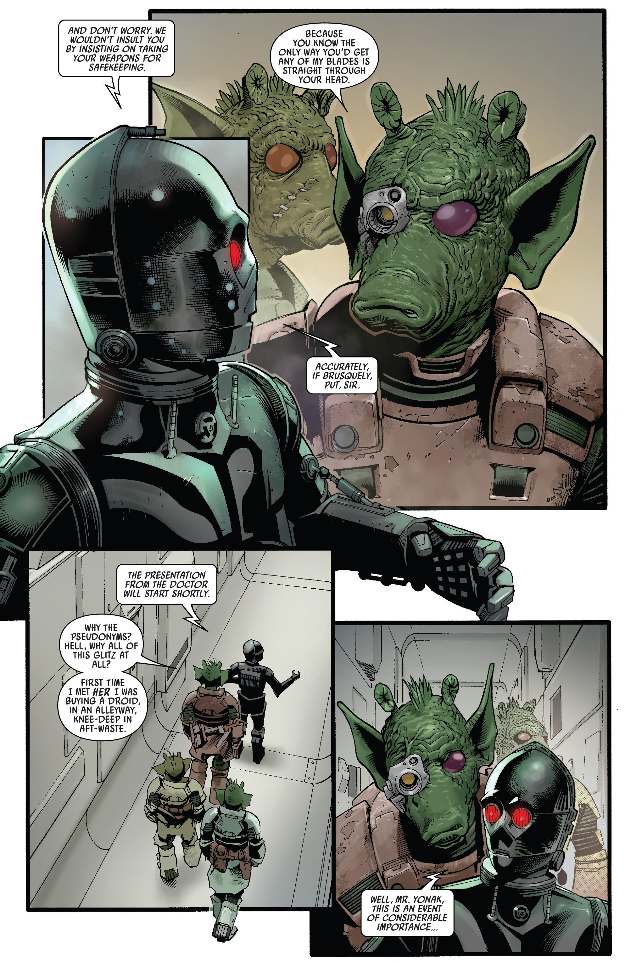 Star Wars Doctor Aphra Doctor Aphra and the enormous profit review