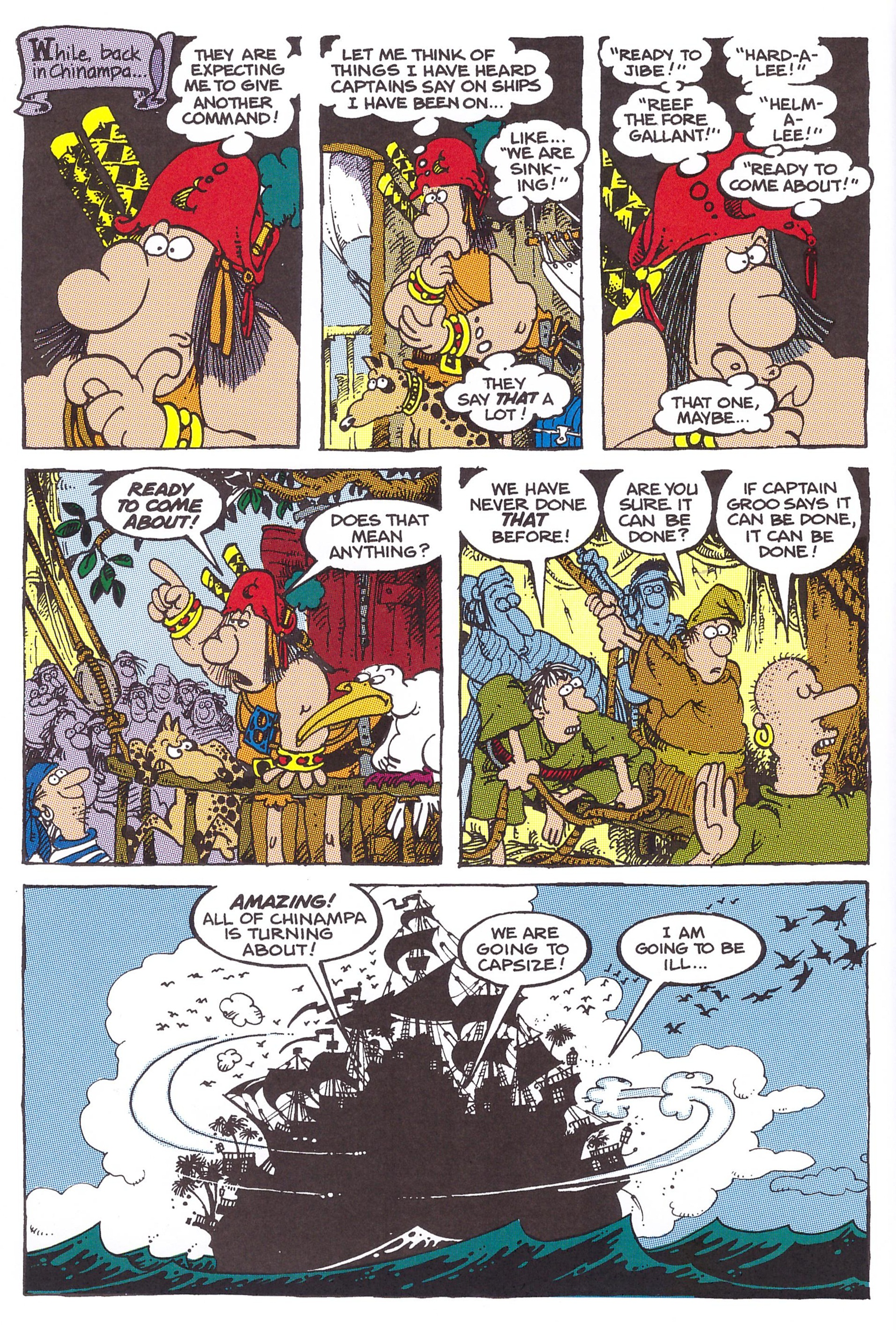 The Groo Odyssey review
