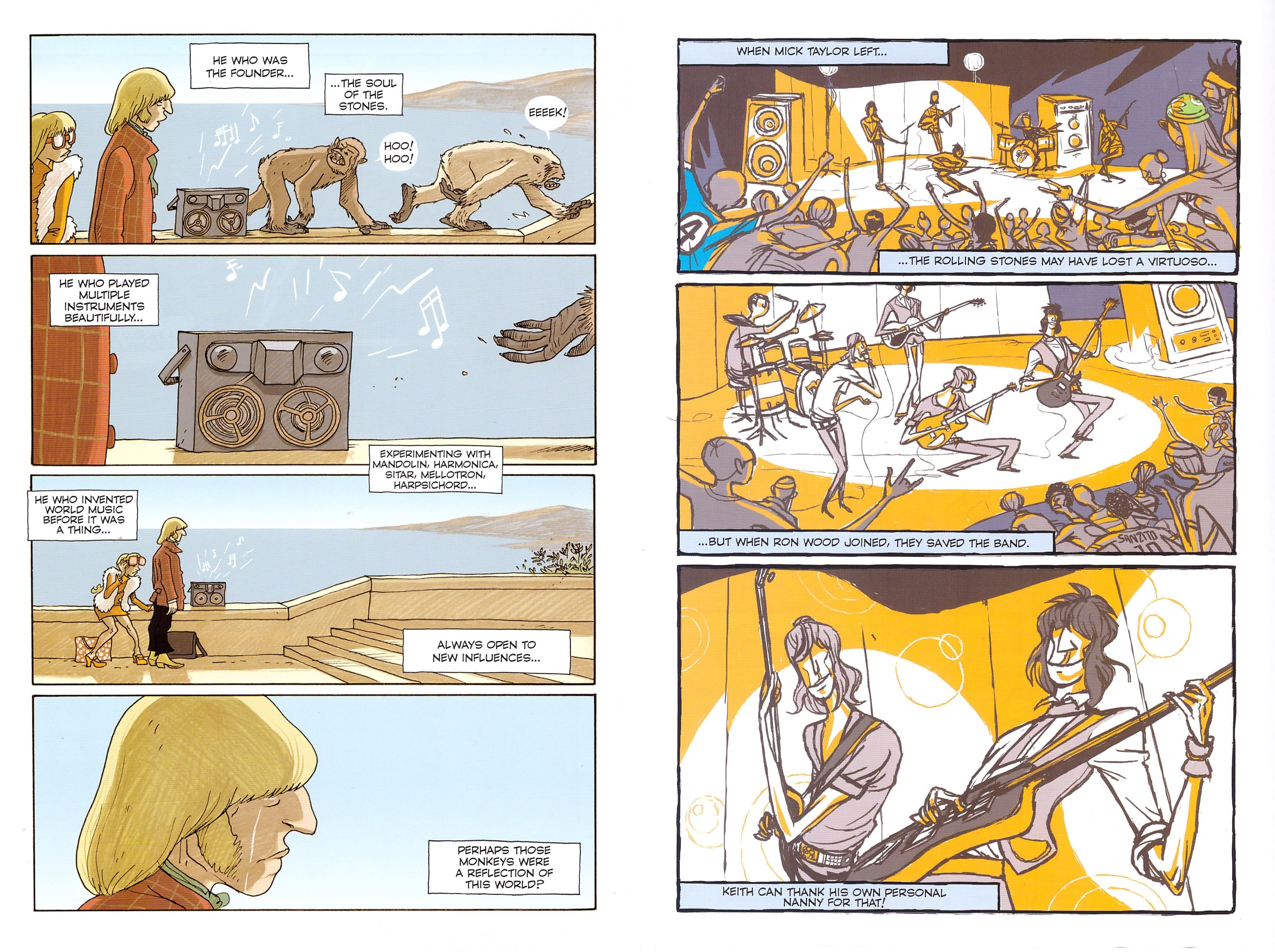The Rolling Stones in Comics review