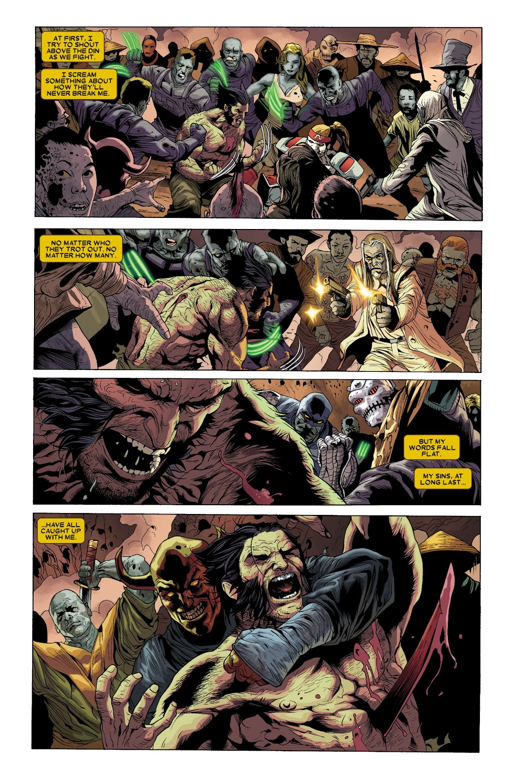 Wolverine Goes to Hell Omnibus review
