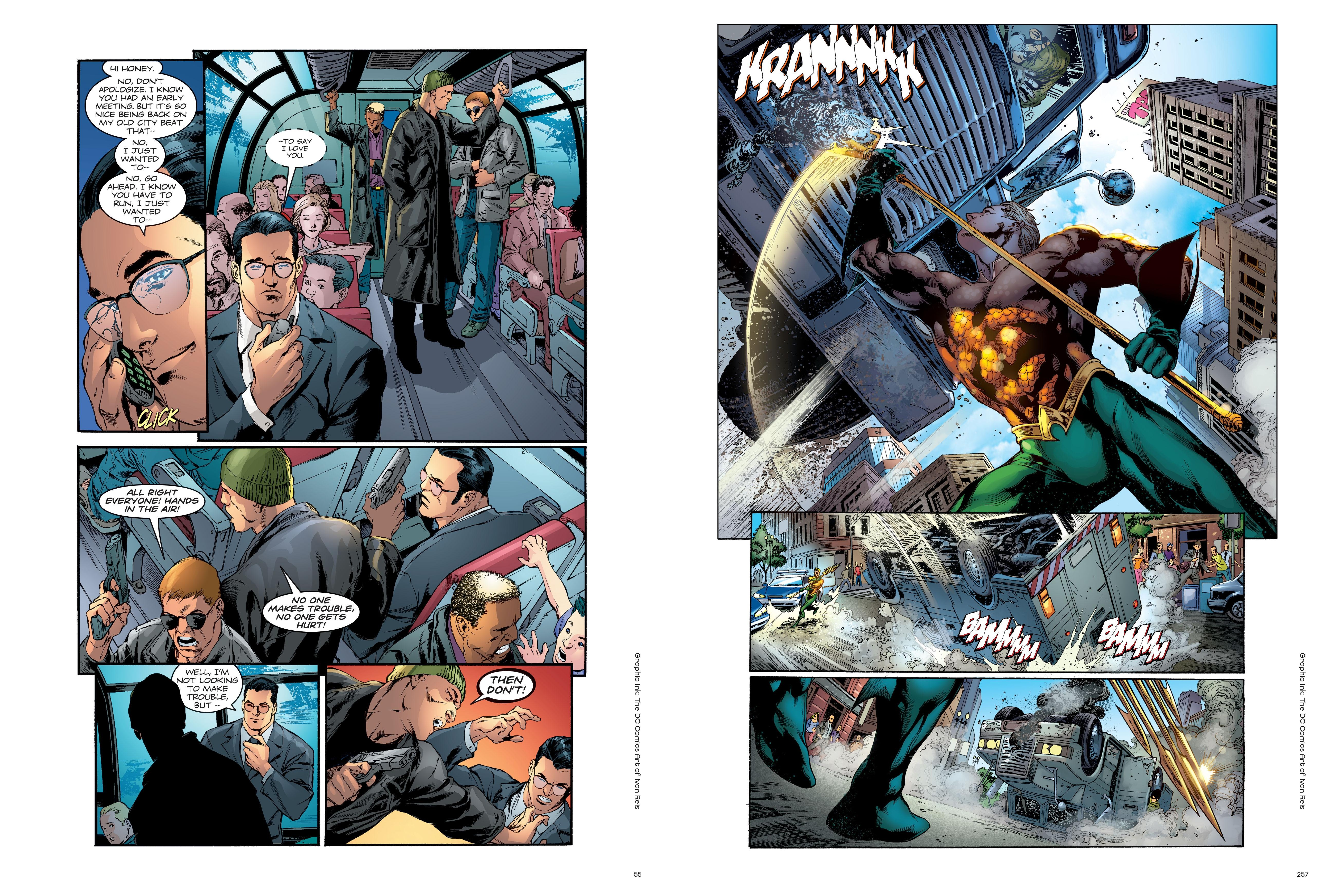 Graphic Ink_ The DC Comics Art of Ivan Reis review