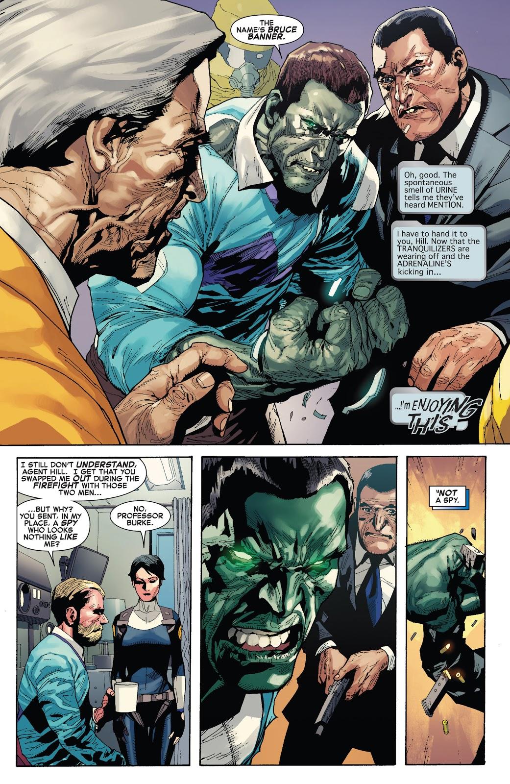 Indestructible Hulk 1 Agent of S.H.I.E.L.D. review