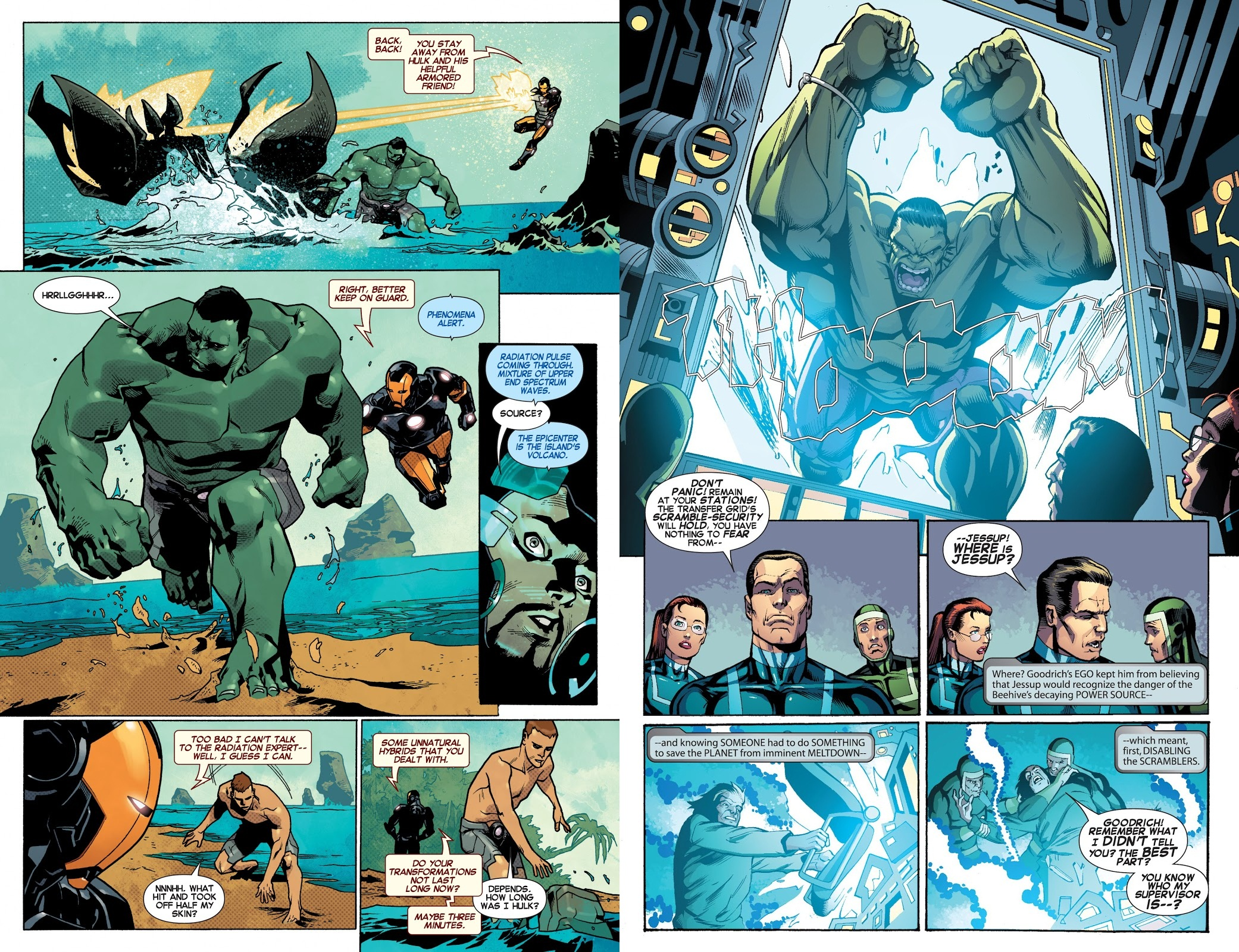 Indestructible Hulk 4 Humanity Bomb review
