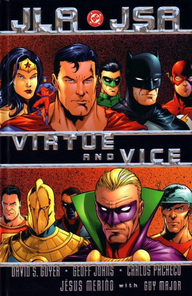 JLA JSA: Virtue and Vice