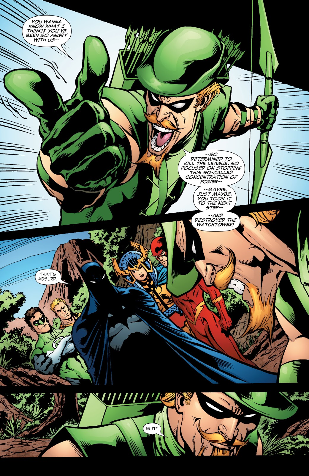 JLA World Without a Justice League review