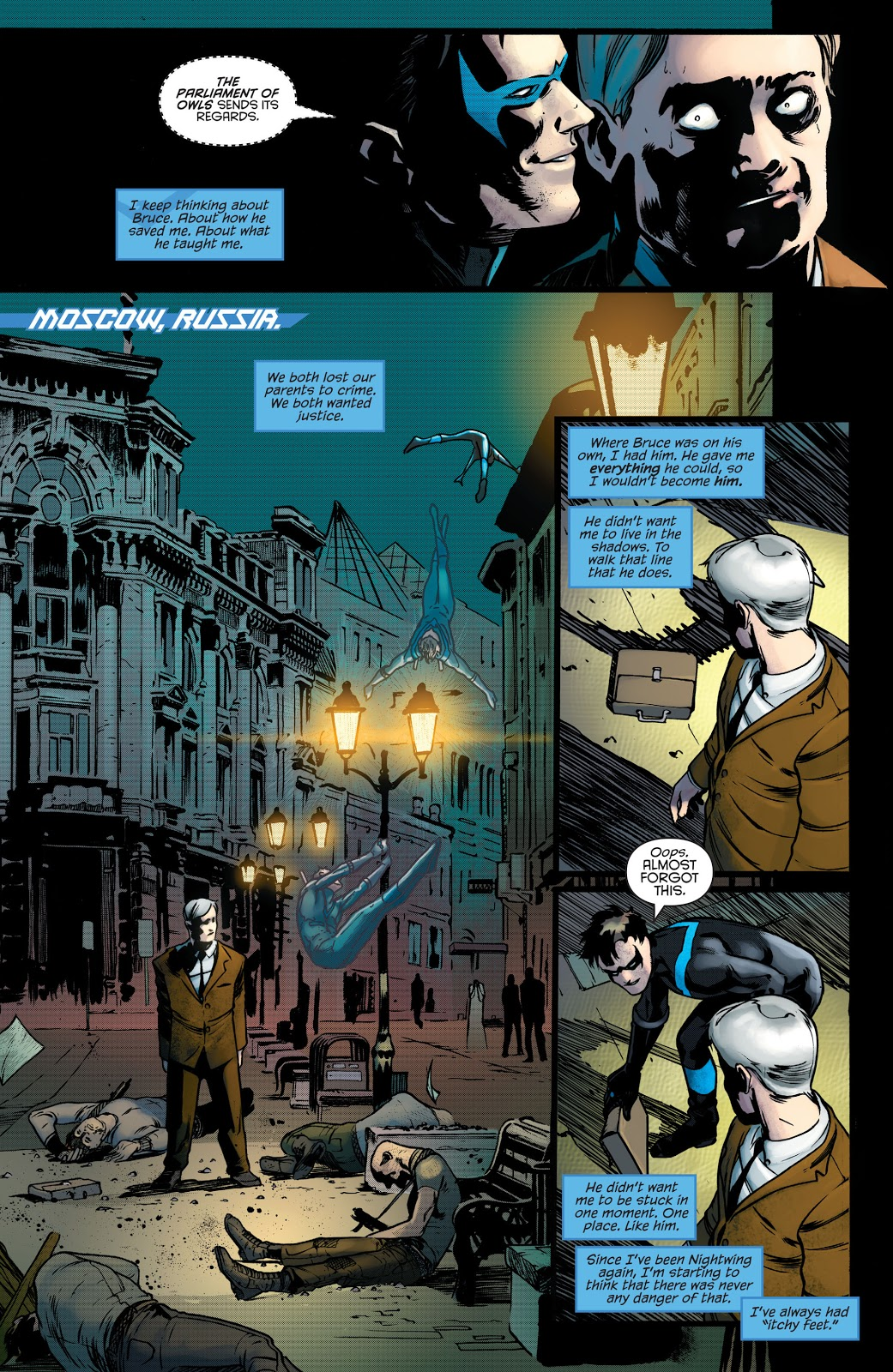 Nightwing Better than Batman review