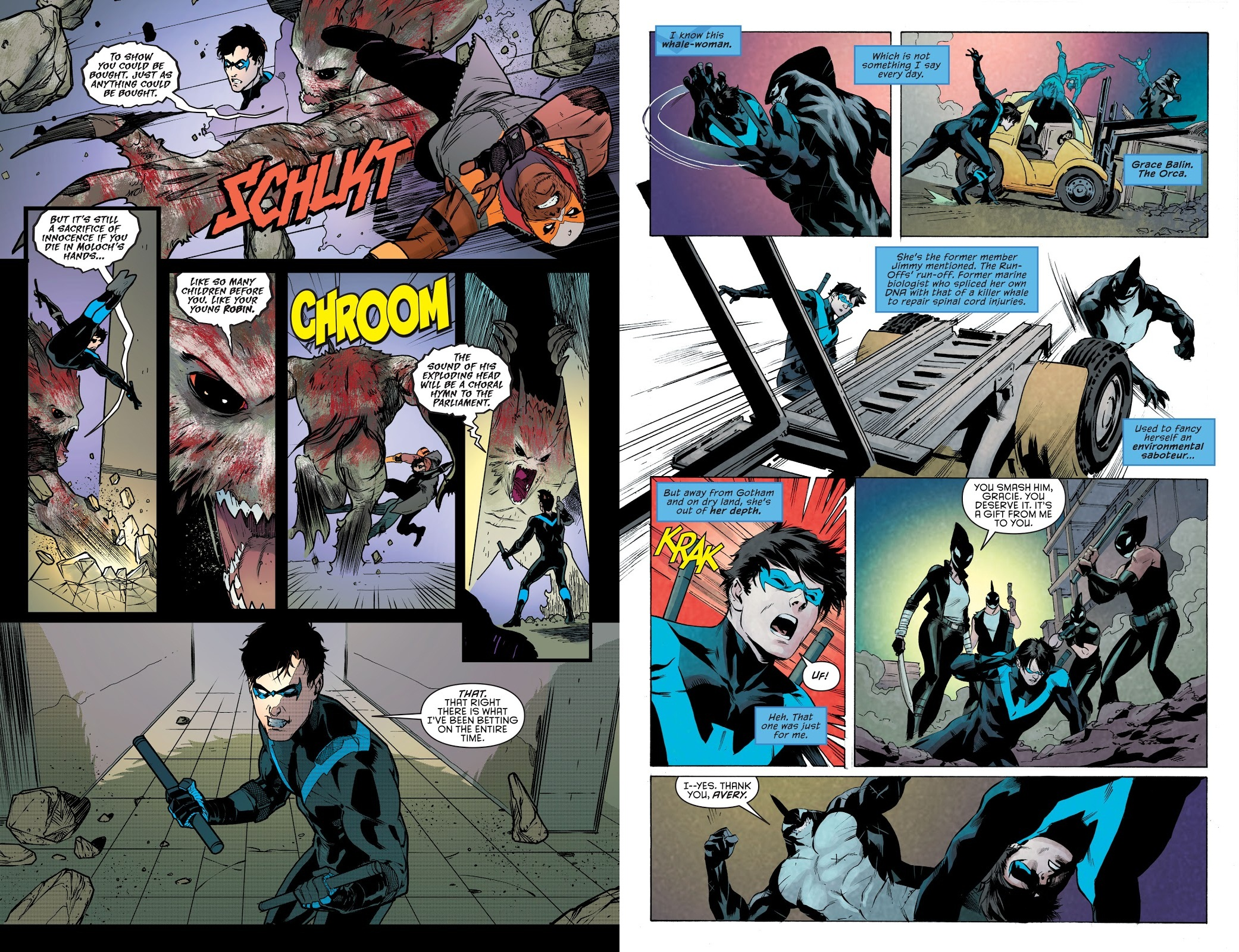 Nightwing Rebirth The Deluxe Edition Book One review