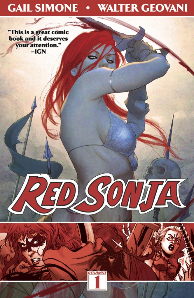 Red Sonja 1: Queen of Plagues