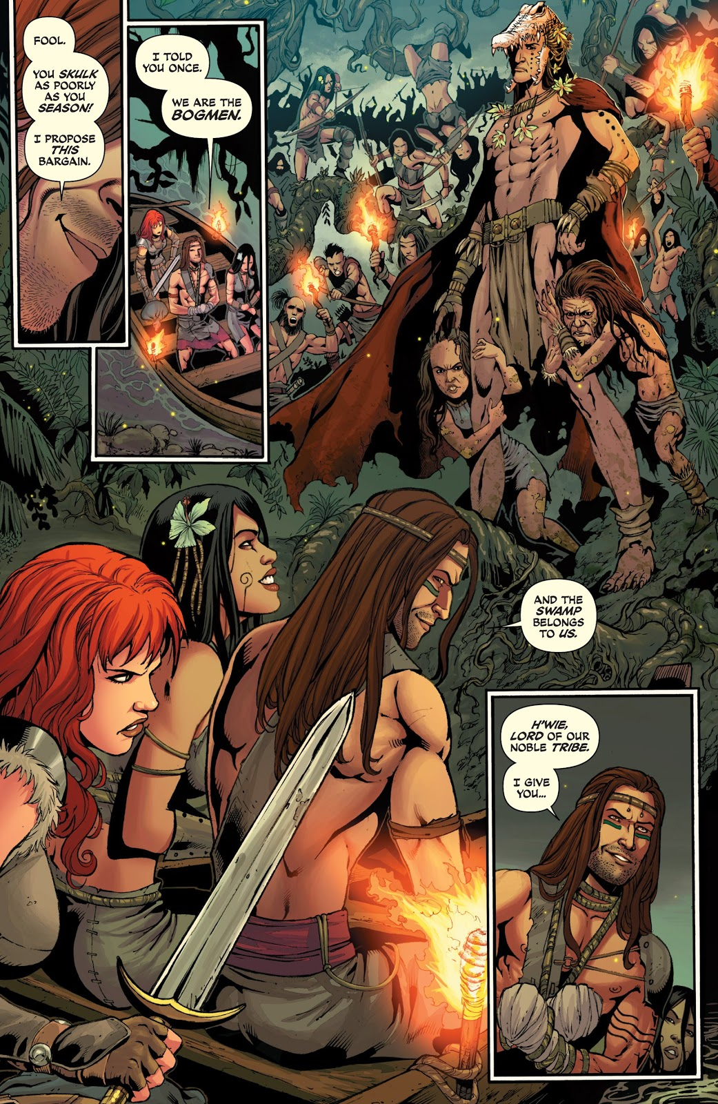 Red Sonja The Art of Blood and Fire review