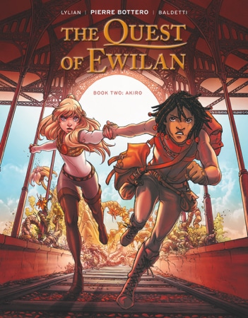 The Quest of Ewilan Book Two: Akiro