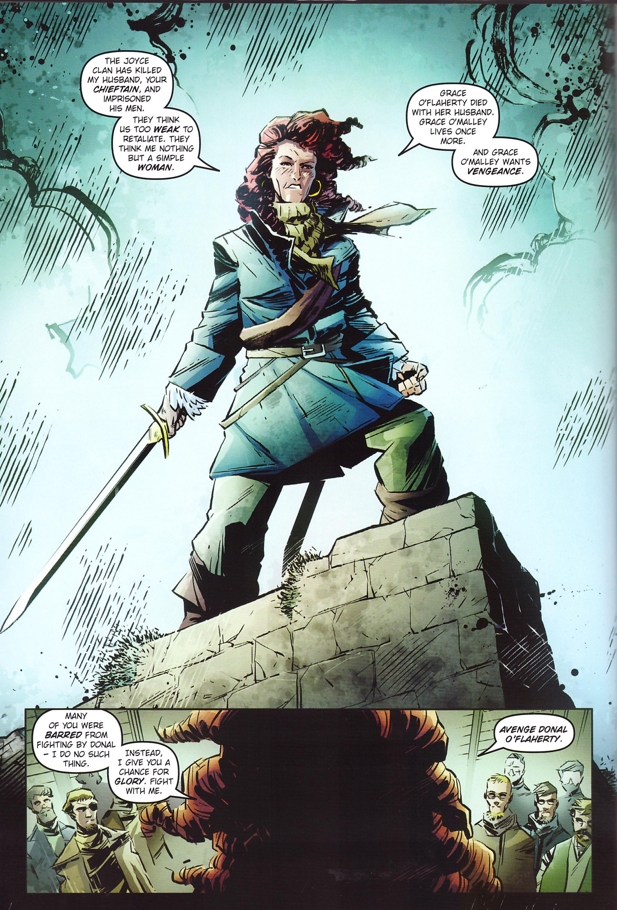 Pirate Queen The Legend of Grace O'Malley review