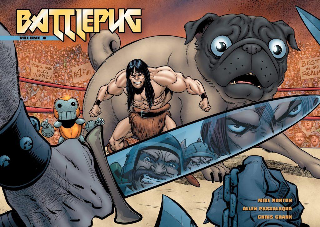 Battlepug Volume 4: The Devil's Biscuit