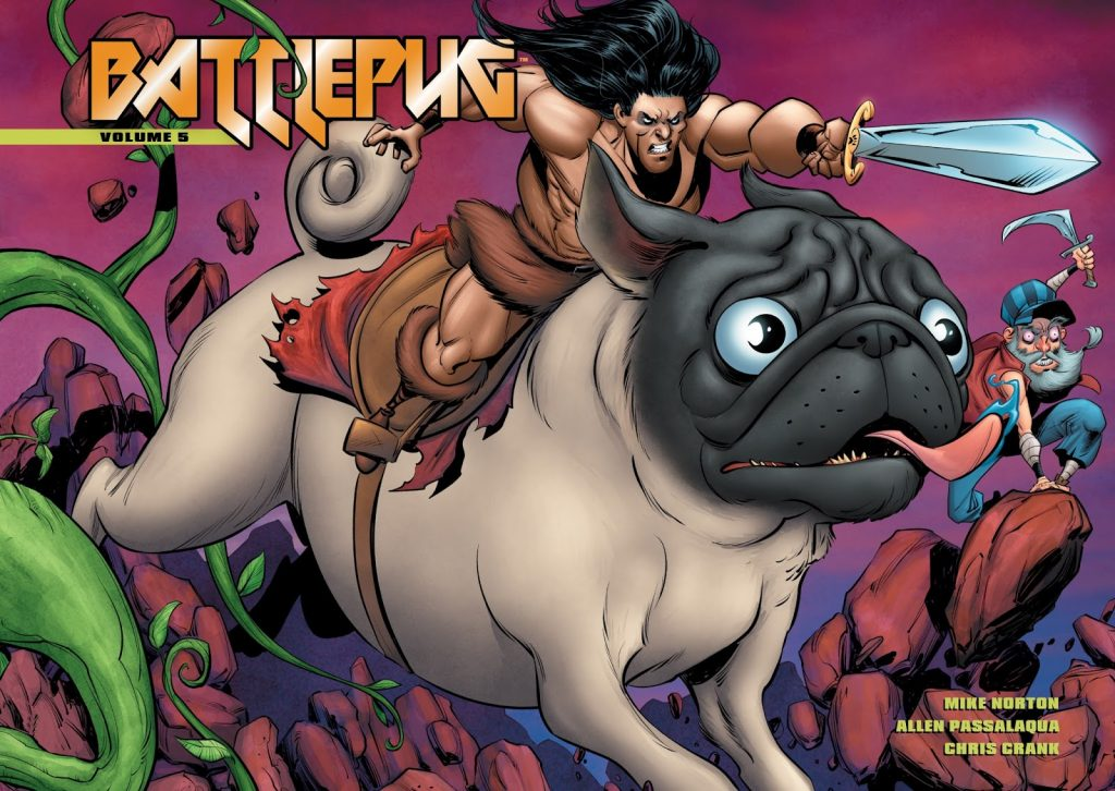 Battlepug Volume 5: Paws of War