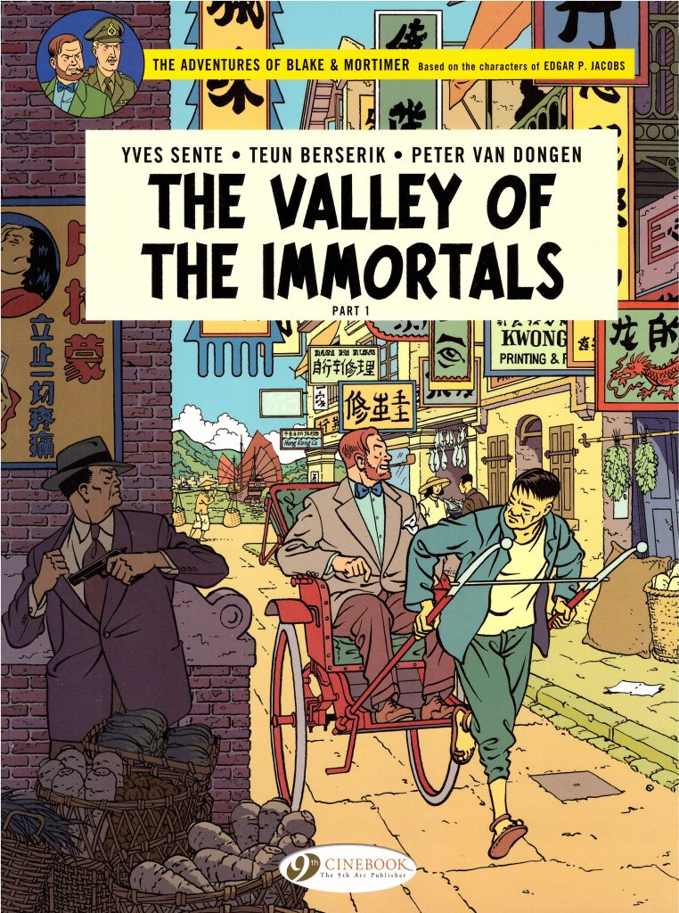 The Adventures of Blake & Mortimer: The Valley of the Immortals Part 1