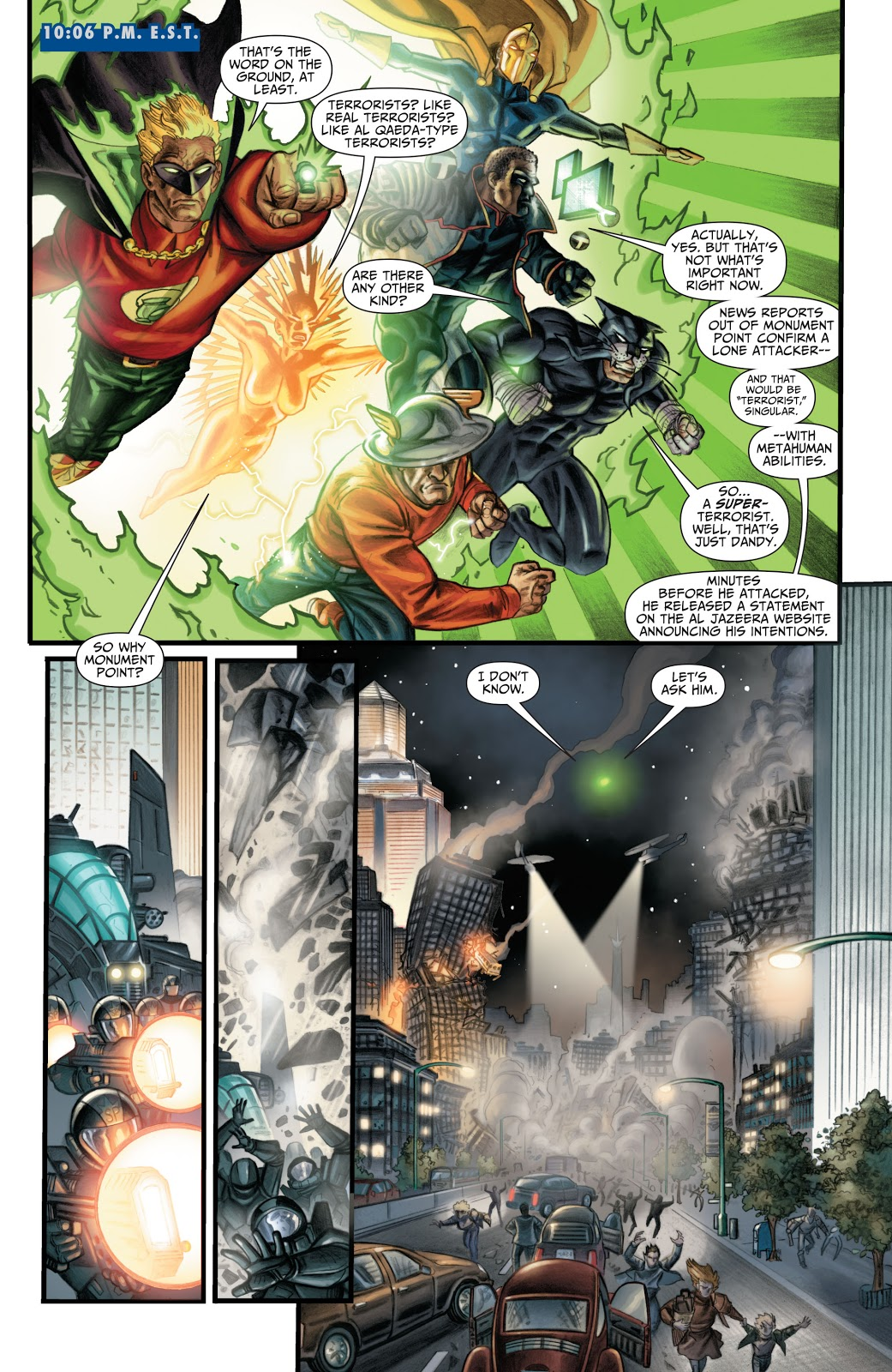 Justice Society of America Supertown review