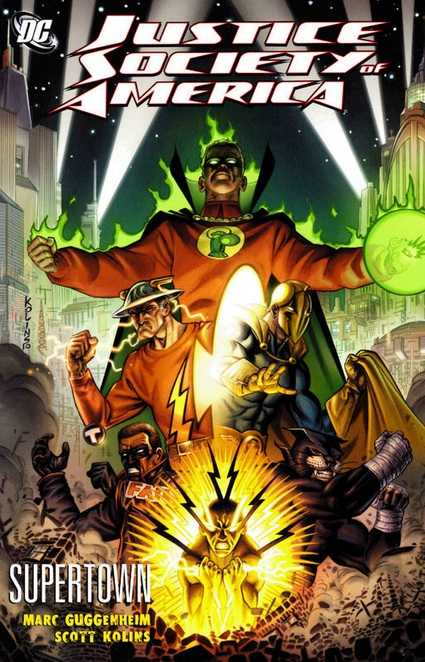 Justice Society of America: Supertown