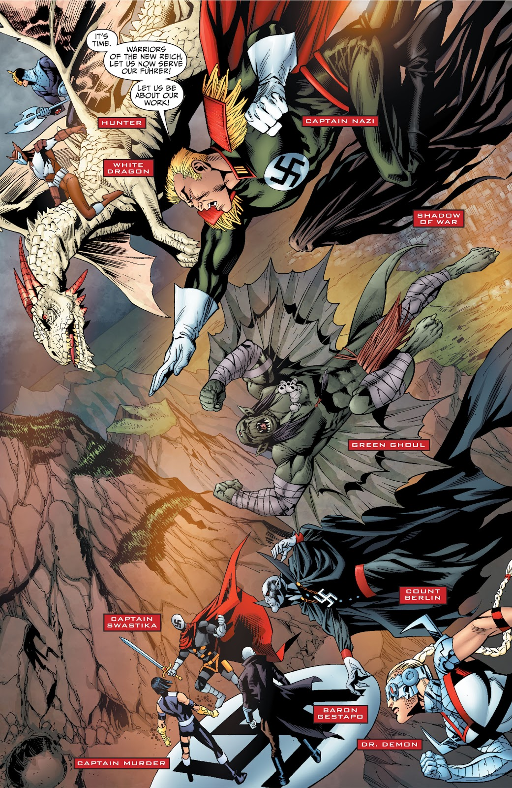 Justice Society of America Axis of Evil review