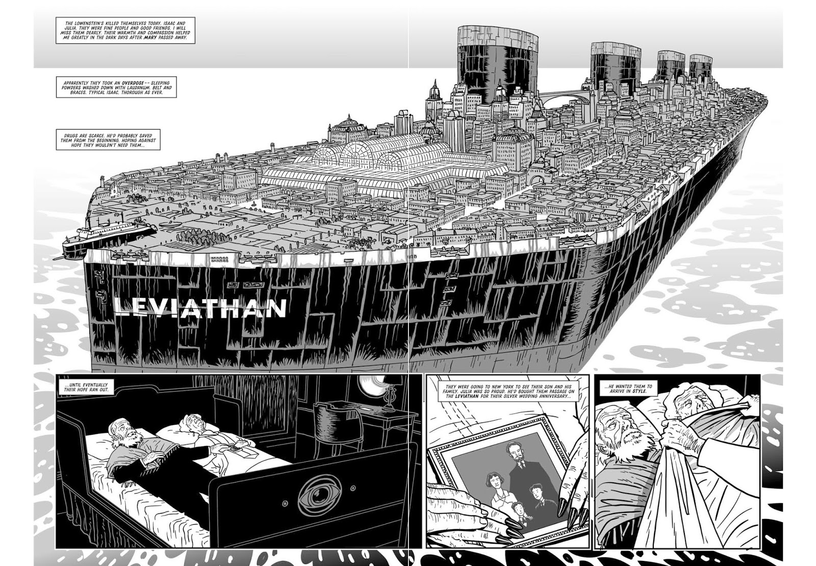 Leviathan graphic novel review