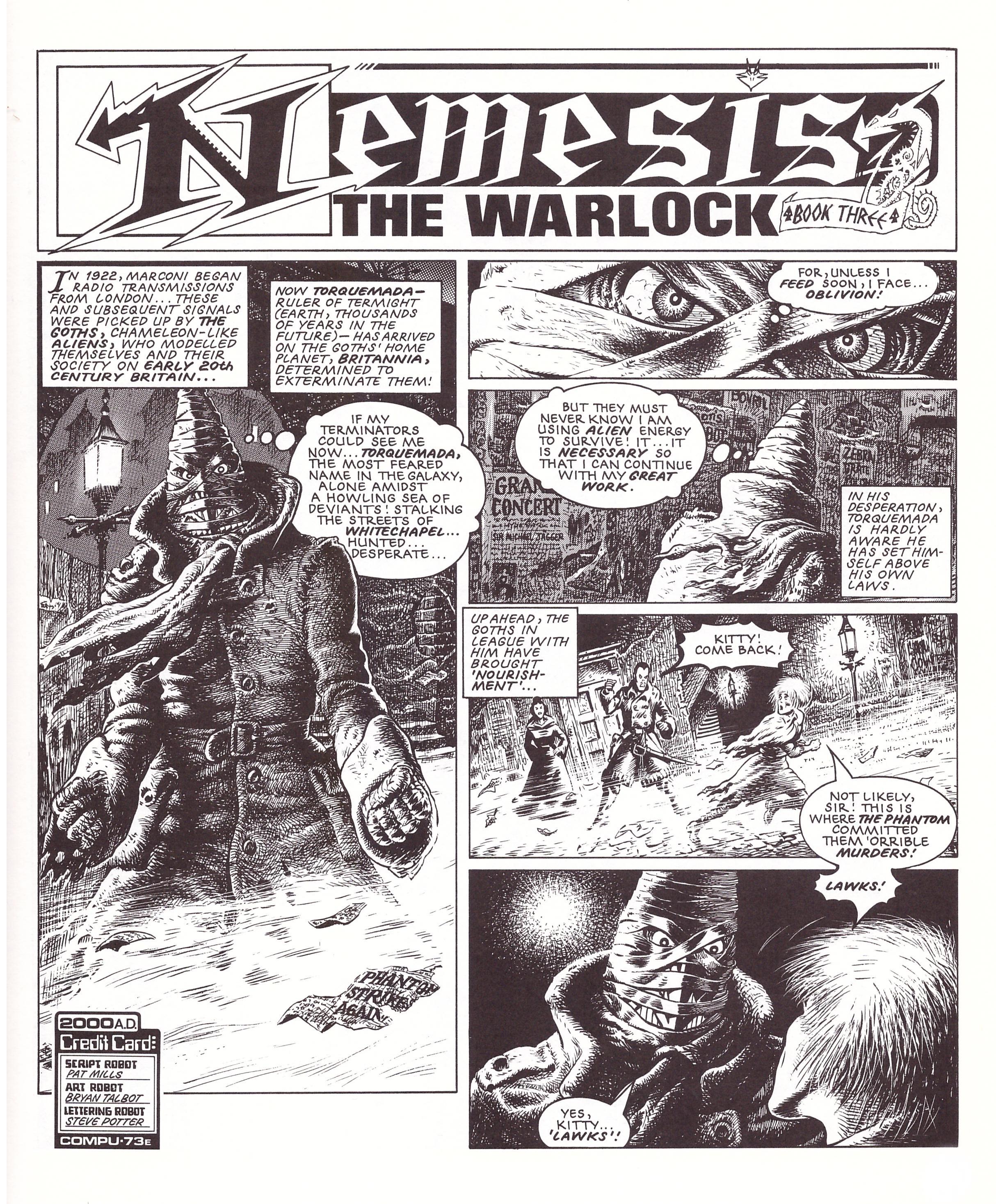 Nemesis The Warlock Book Three review