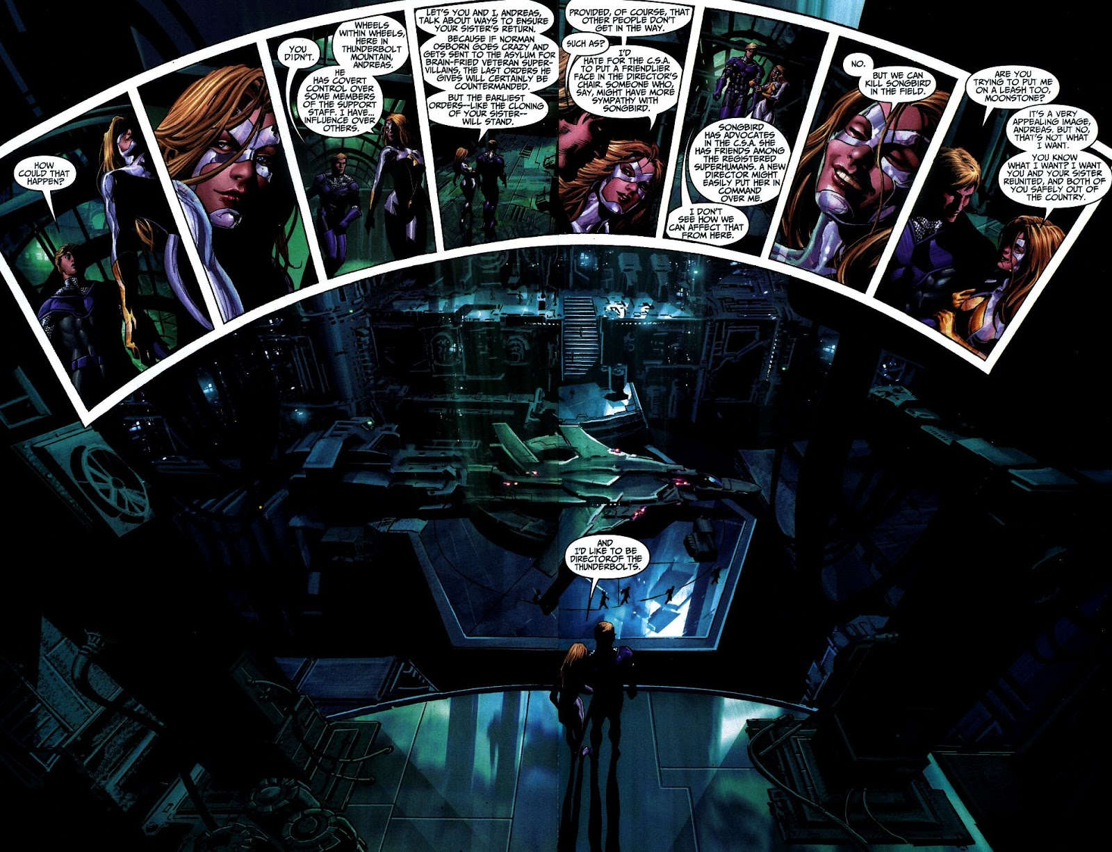Thunderbolts by Ellis and Deodato Ultimate Collection review