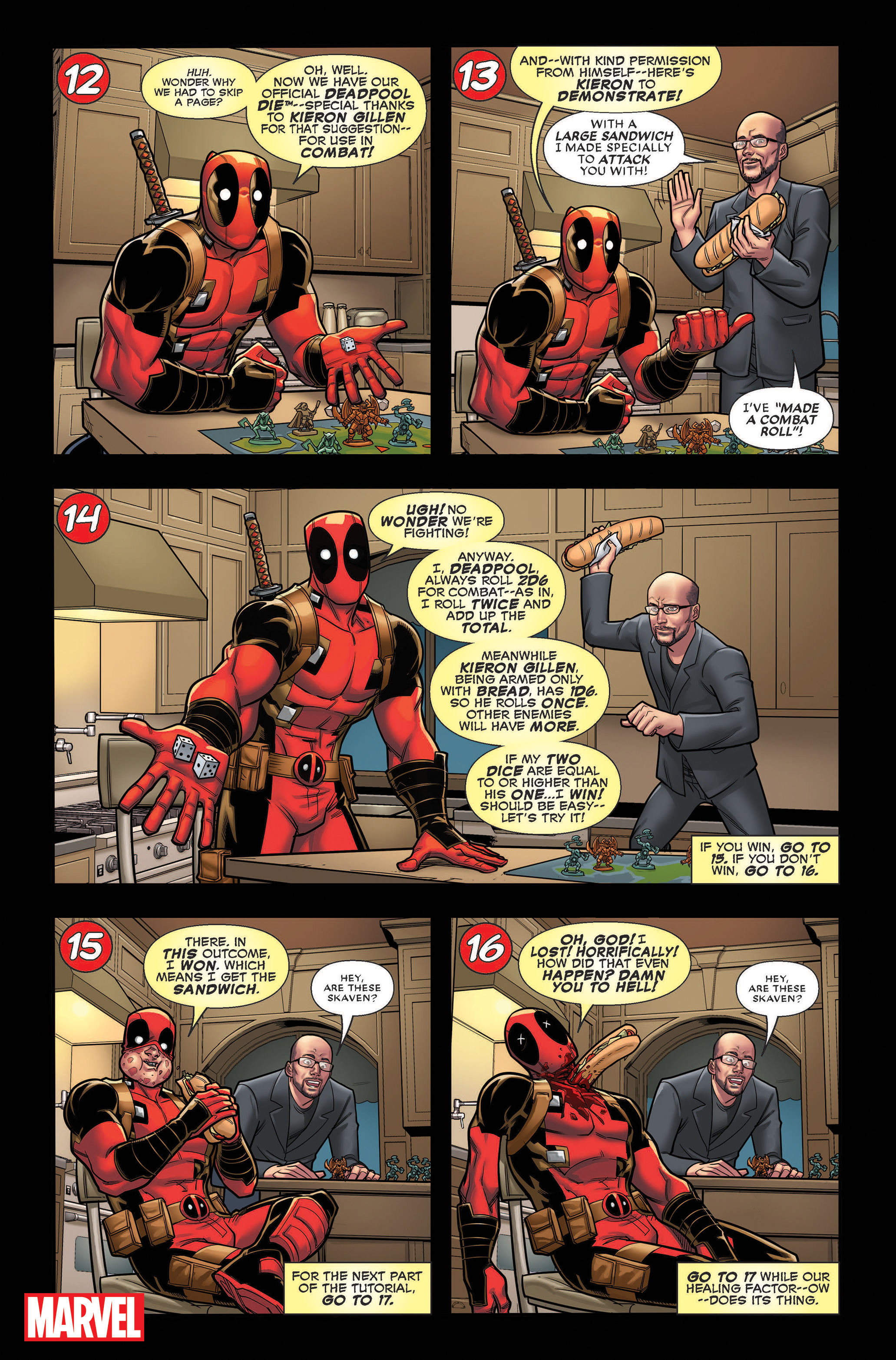 You Are Deadpool review