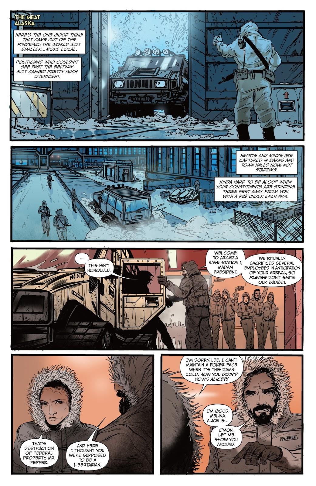 Arcadia graphic novel review