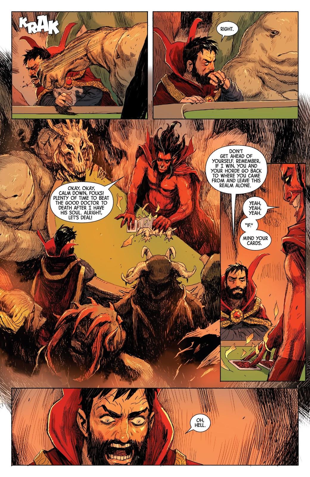 Doctor Strange City of Sin review
