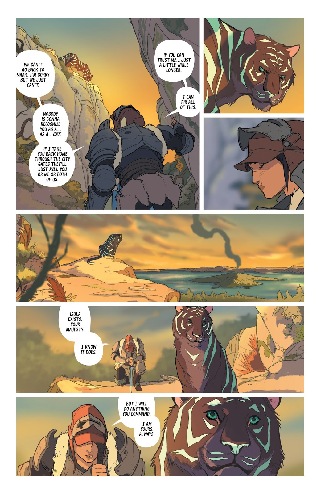 Isola Chapter One review