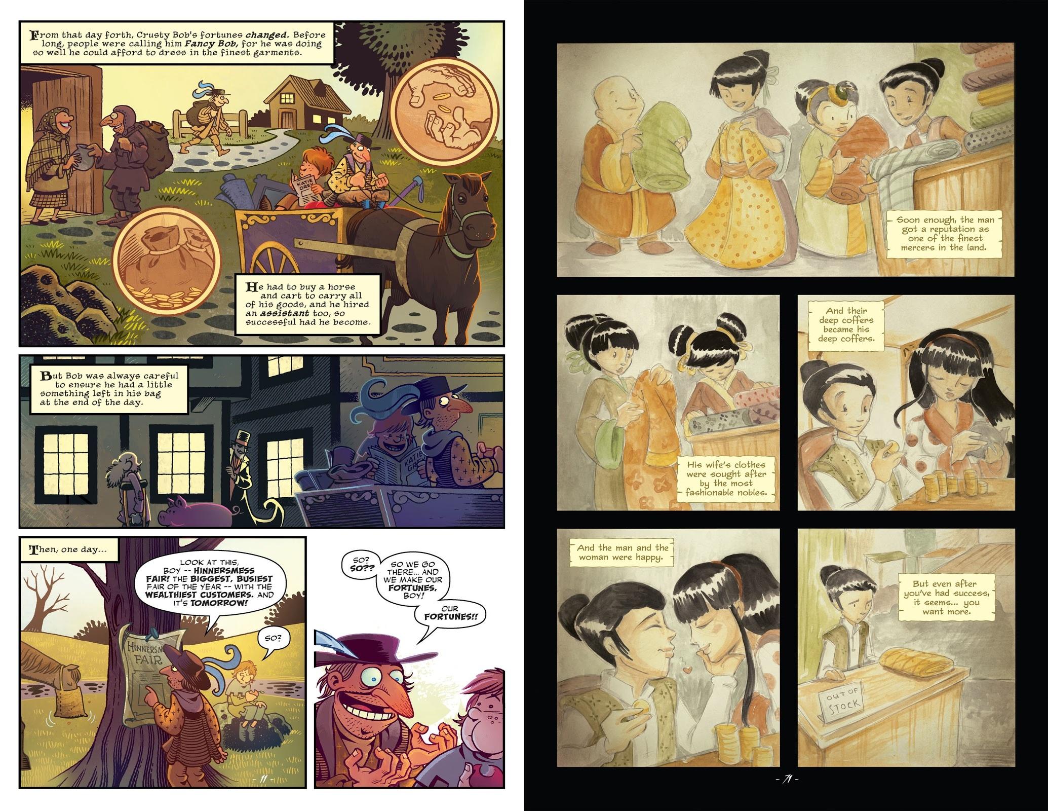 Jim Henson's The Storyteller graphic novel review