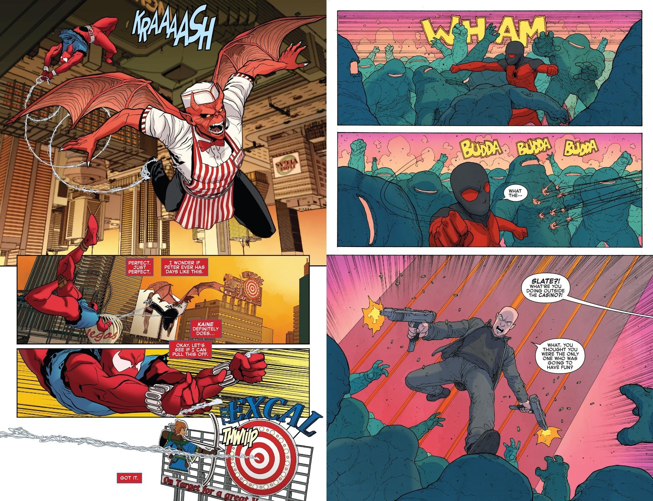 Ben Reilly, Scarlet Spider Damnation review