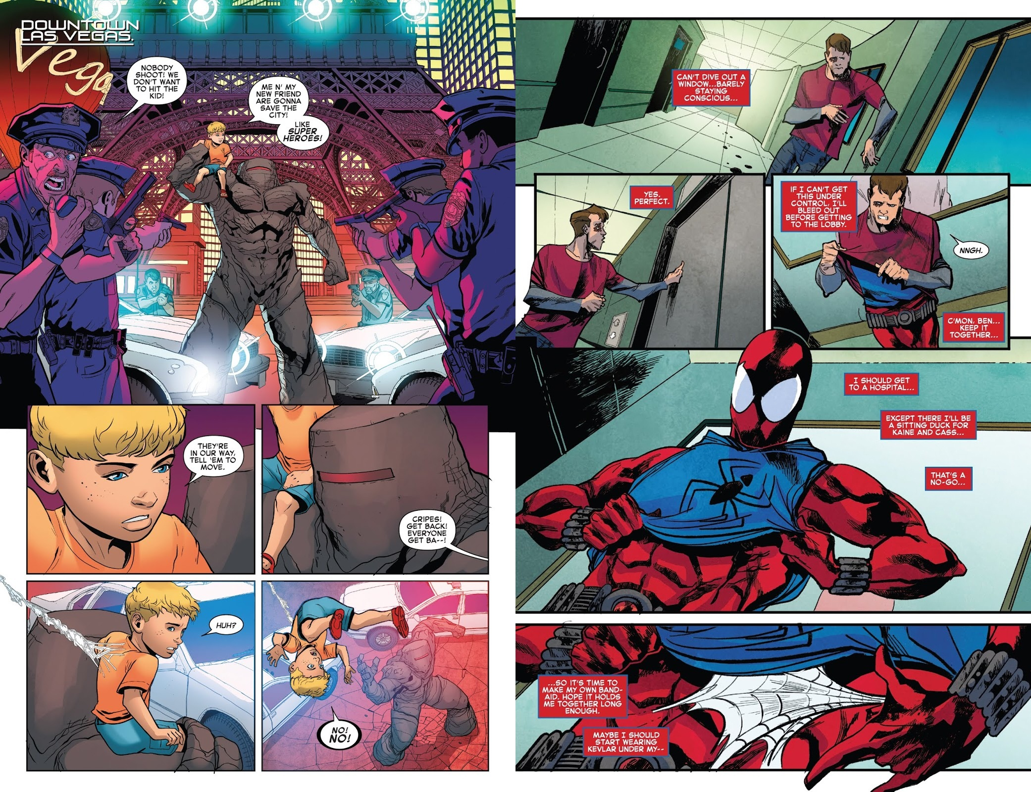 Ben Reilly Scarlet Spider Deal With the Devil review