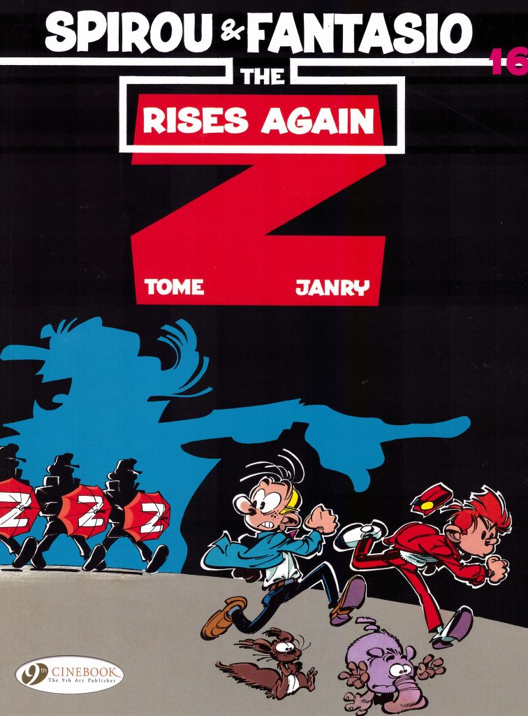 Spirou and Fantasio: The Z Rises Again