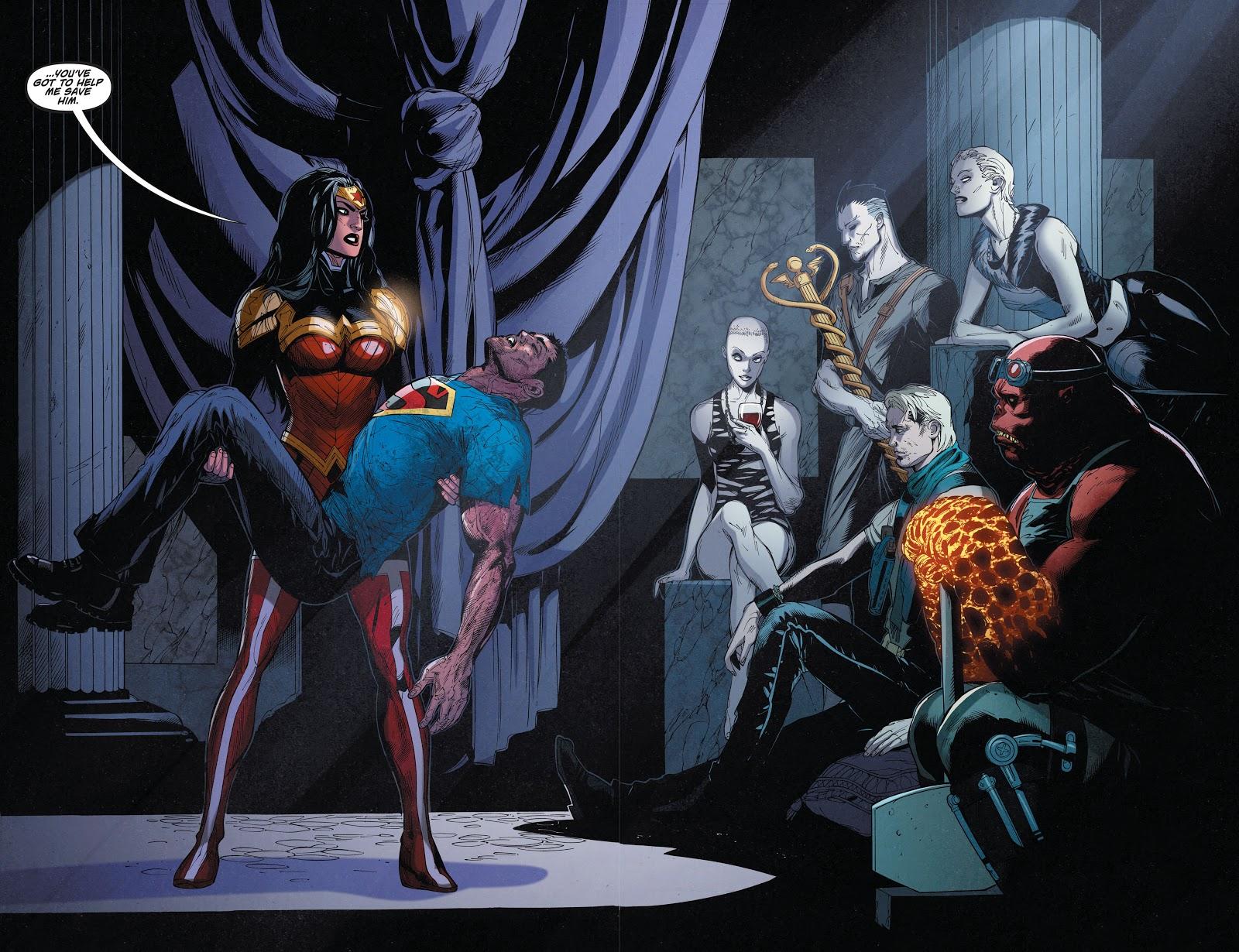 Superman Wonder Woman A Savage End review